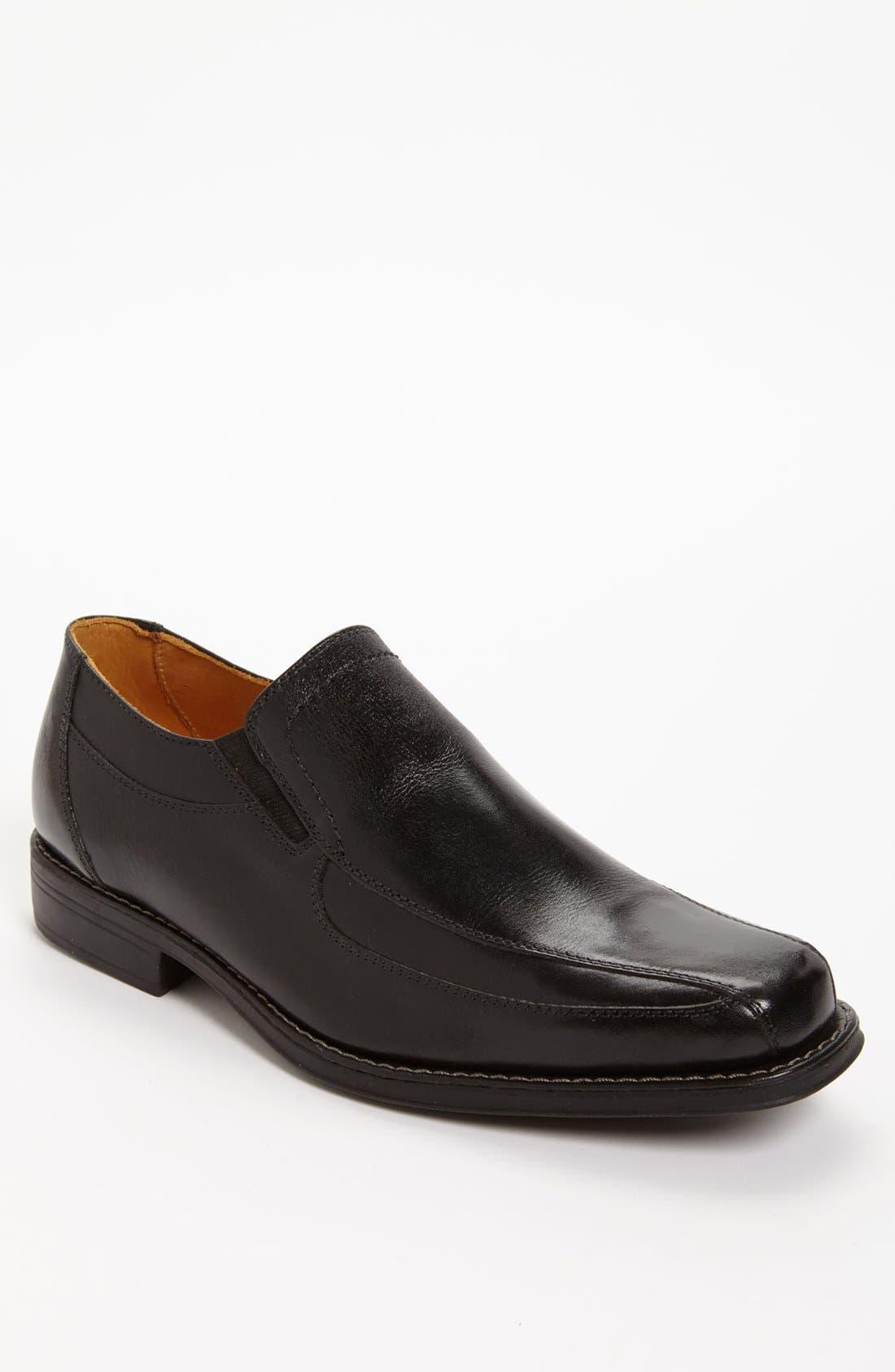 'Berwyn' Venetian Loafer,                             Main thumbnail 1, color,                             BLACK