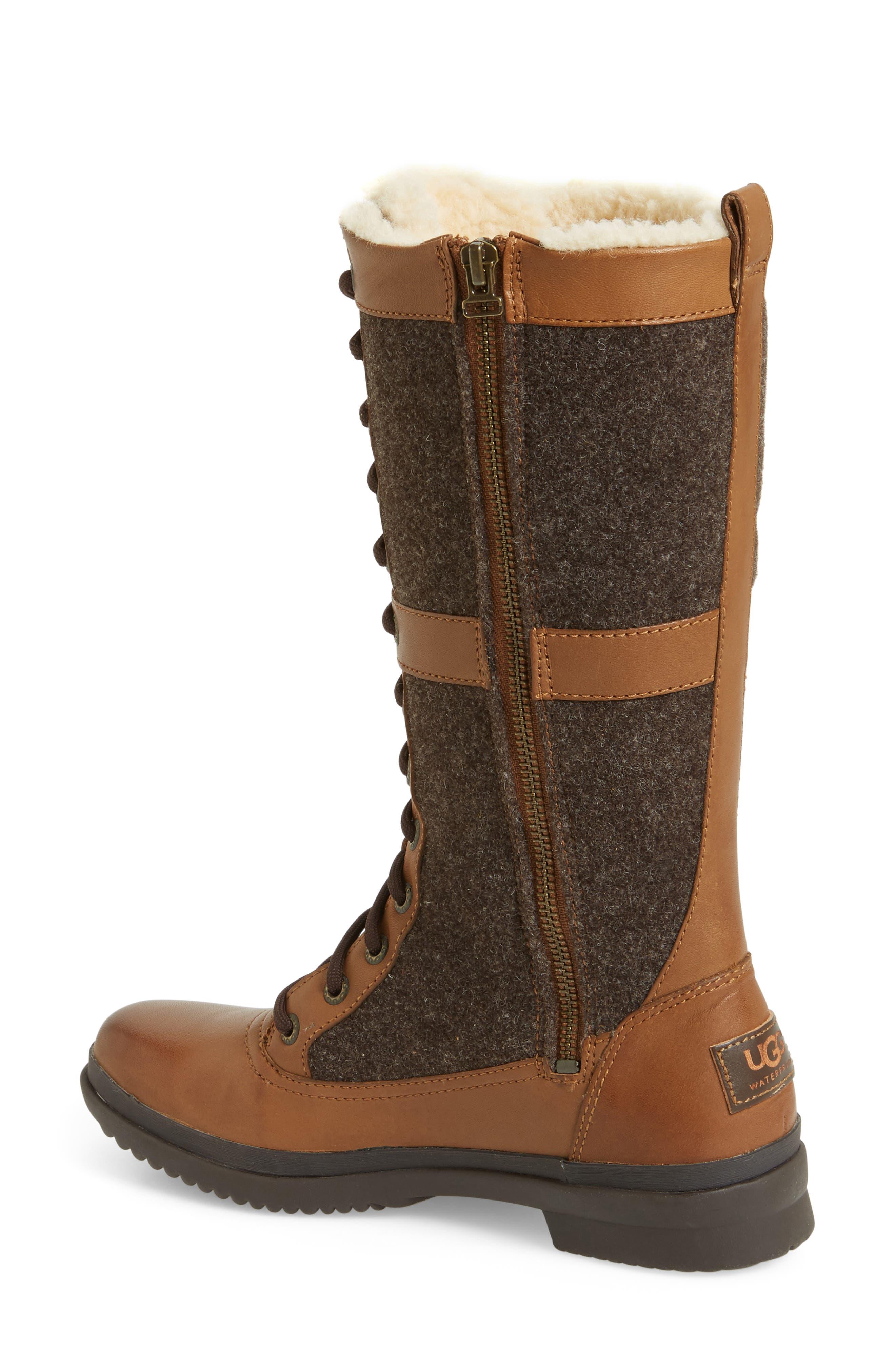 Elvia Waterproof Tall Boot,                             Alternate thumbnail 6, color,