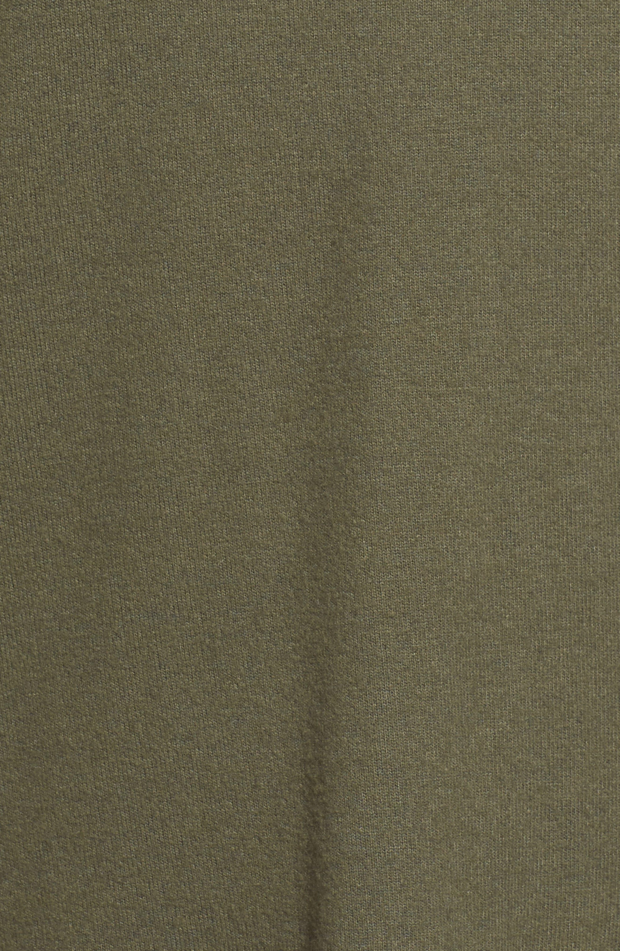 Bell Sleeve Cozy Fleece Pullover,                             Alternate thumbnail 56, color,