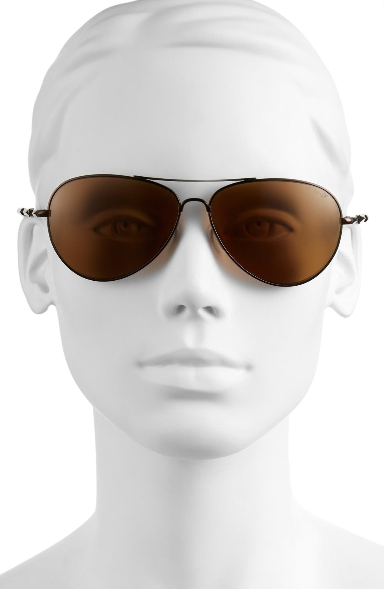 1f7c660e75 Smith  Audible - ChromaPop  60mm Polarized Aviator Sunglasses ...