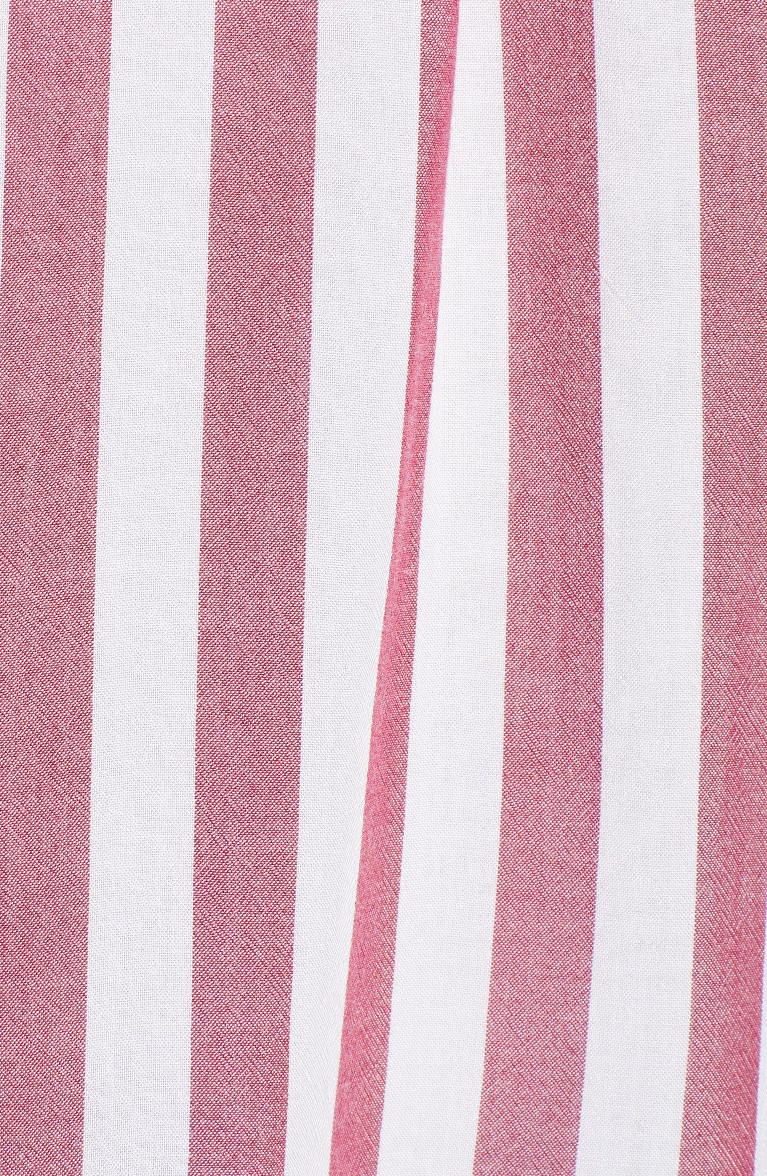 Val Tie Front Shirt,                             Alternate thumbnail 6, color,                             DALI STRIPE