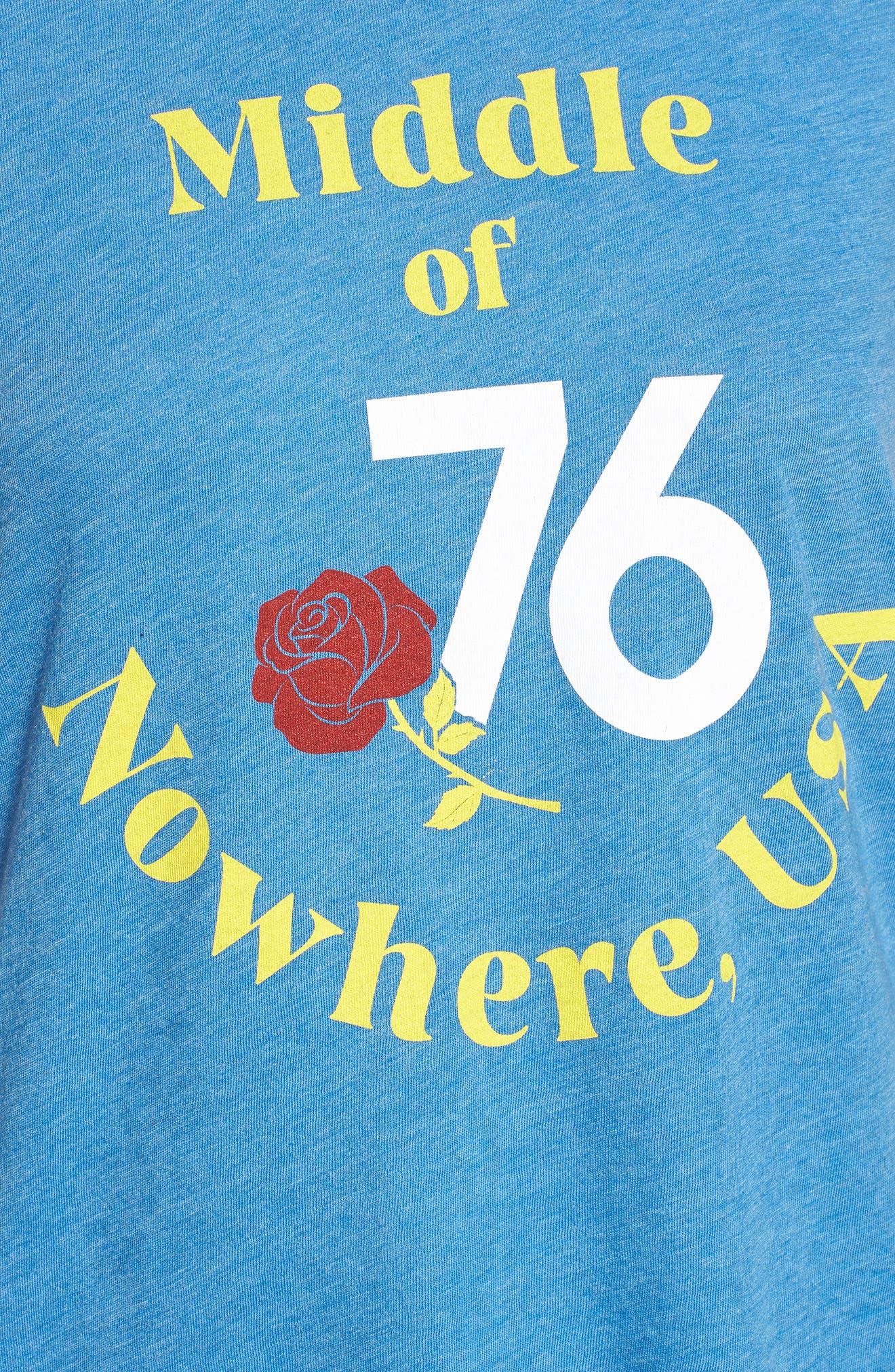 Johnny Ringer Nowhere Tee,                             Alternate thumbnail 5, color,                             400