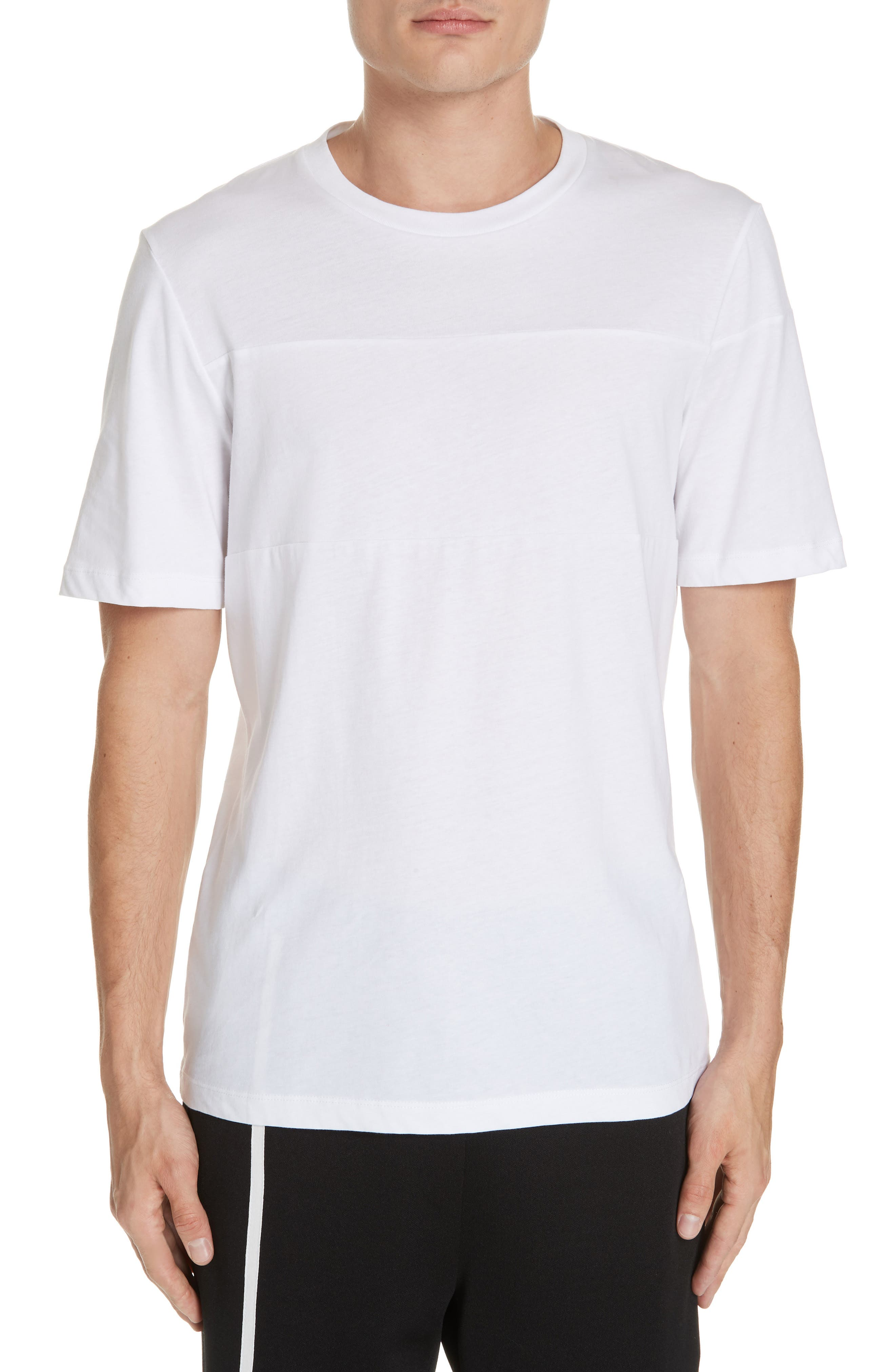 Band Logo T-Shirt,                             Main thumbnail 1, color,                             WHITE
