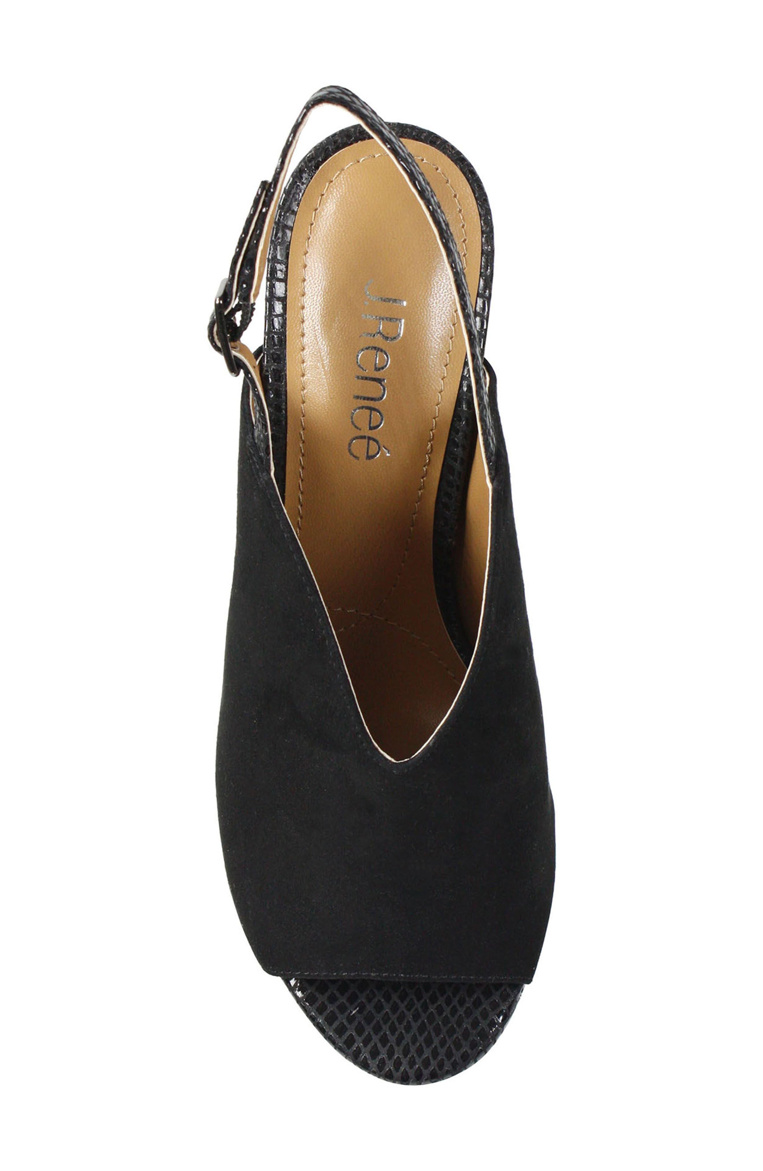 Maarya Block Heel Sandal,                             Alternate thumbnail 3, color,                             001