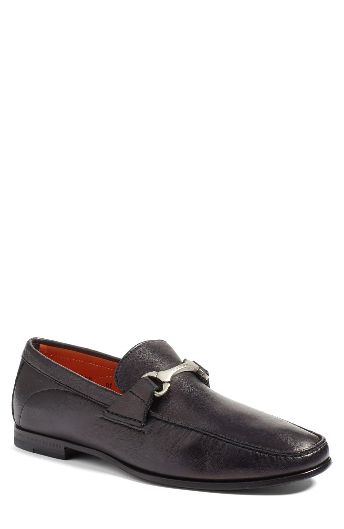 'Wake' Bit Loafer,                         Main,                         color, 001