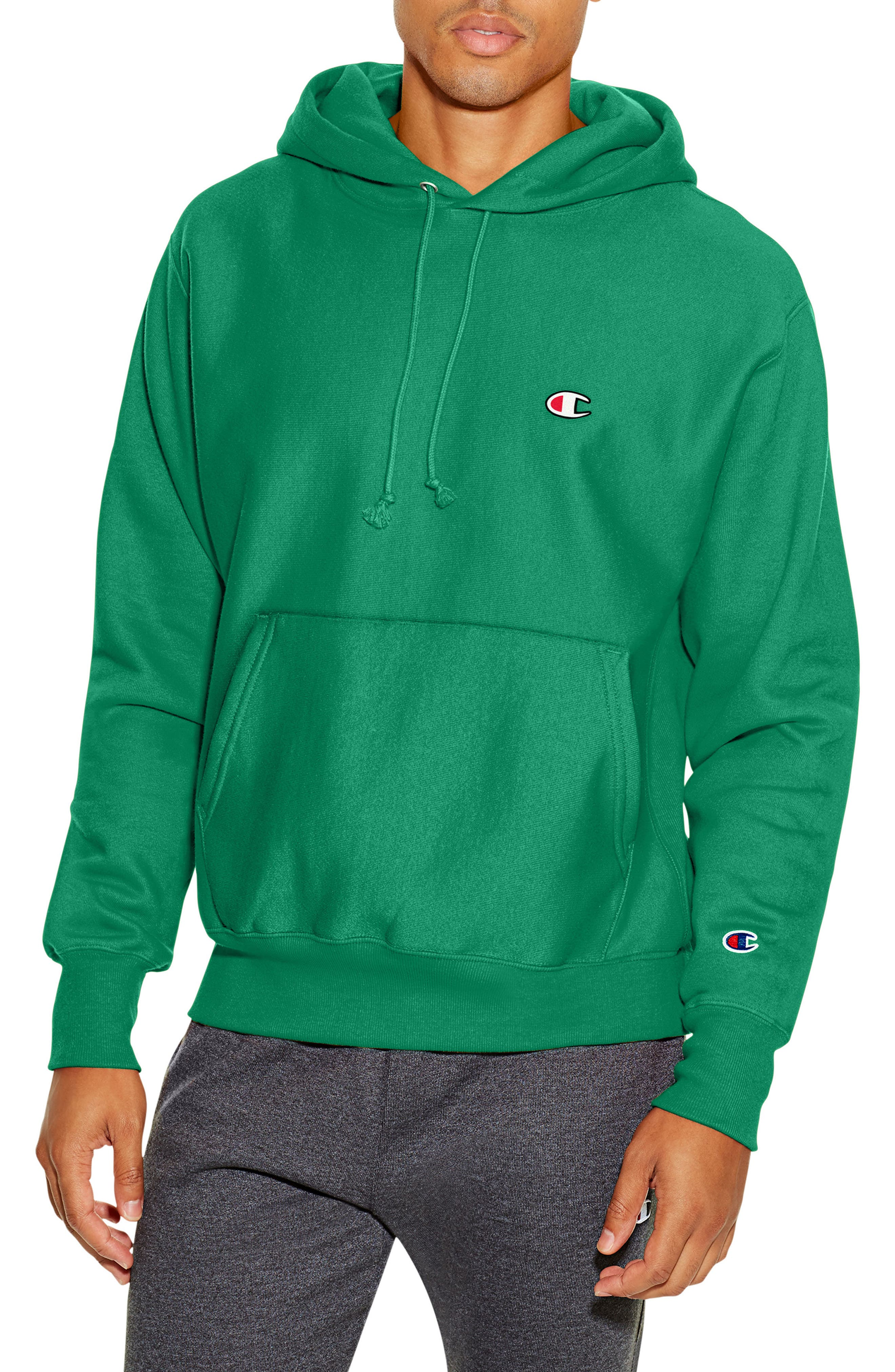 Reverse Weave<sup>®</sup> Pullover Hoodie,                             Main thumbnail 5, color,