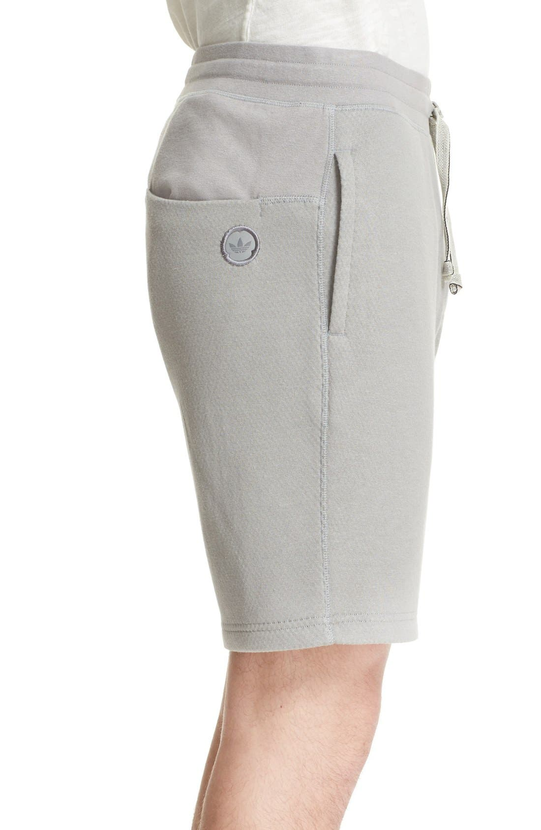 Bonded Jersey Shorts,                             Alternate thumbnail 3, color,                             020