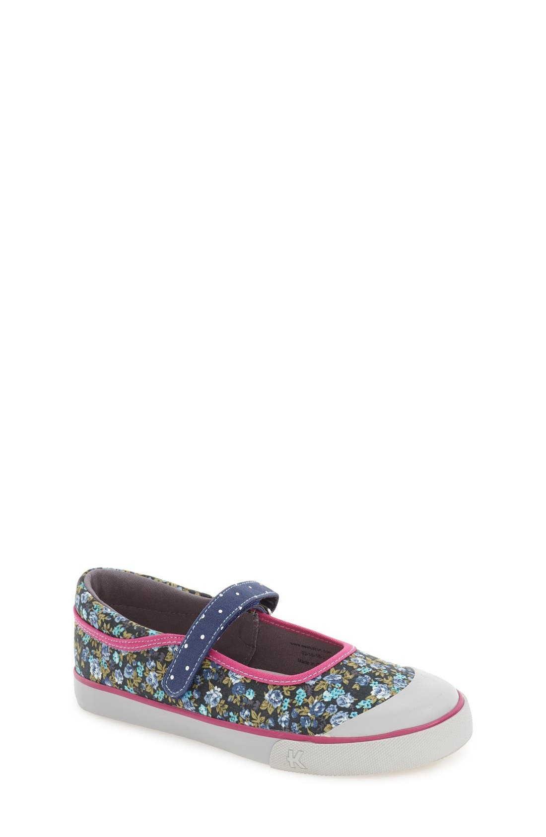 'Marie' Mary Jane Sneaker,                             Main thumbnail 2, color,