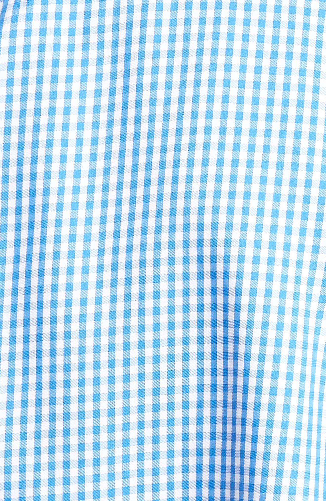 Crown Soft Gingham Regular Fit Sport Shirt,                             Main thumbnail 2, color,