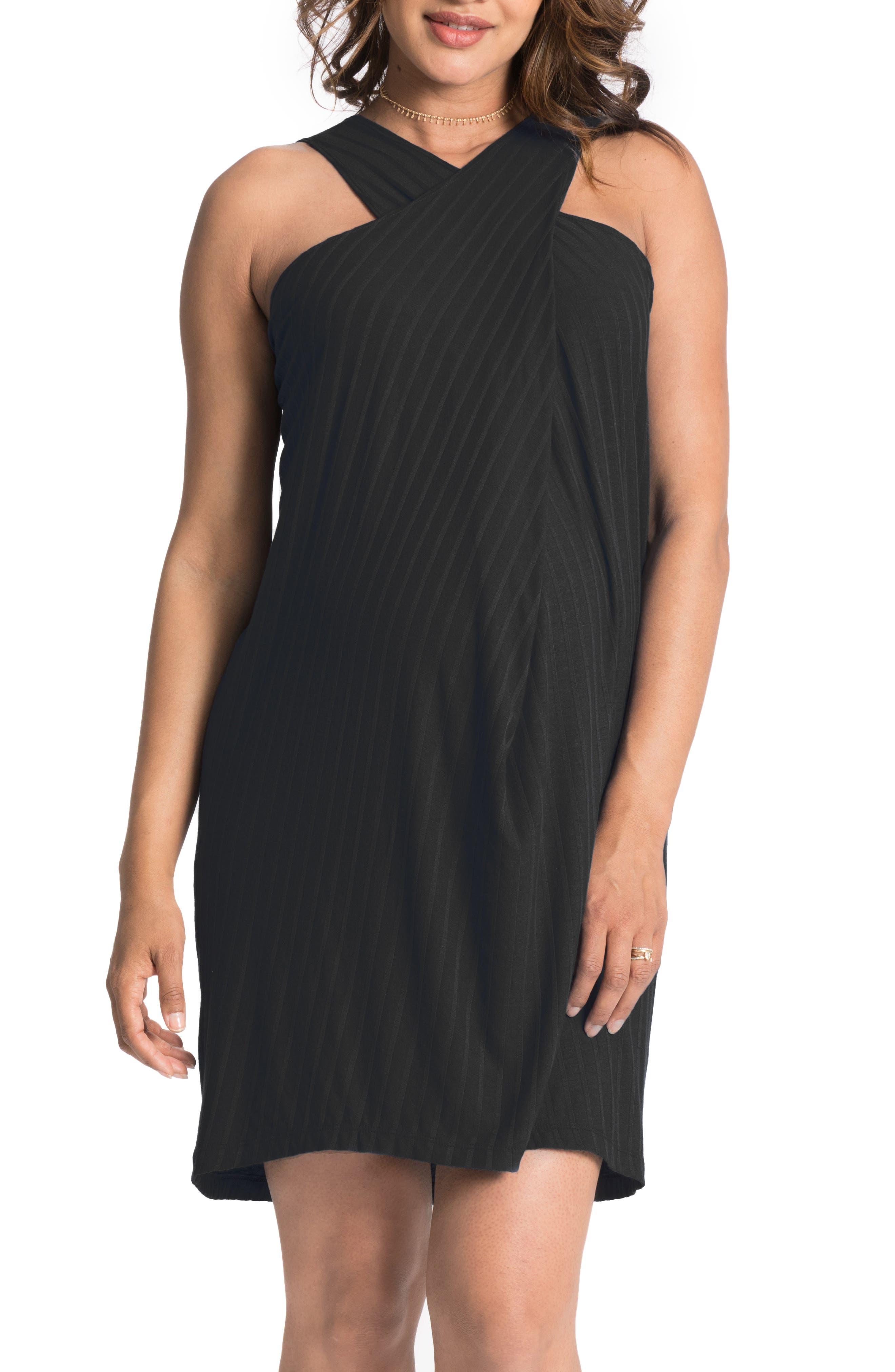 Convertible Maternity Shift Dress,                         Main,                         color, 009