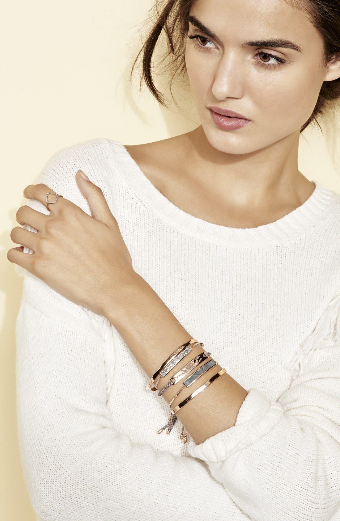 Fiji Chain Bracelet,                             Alternate thumbnail 5, color,                             ROSE GOLD