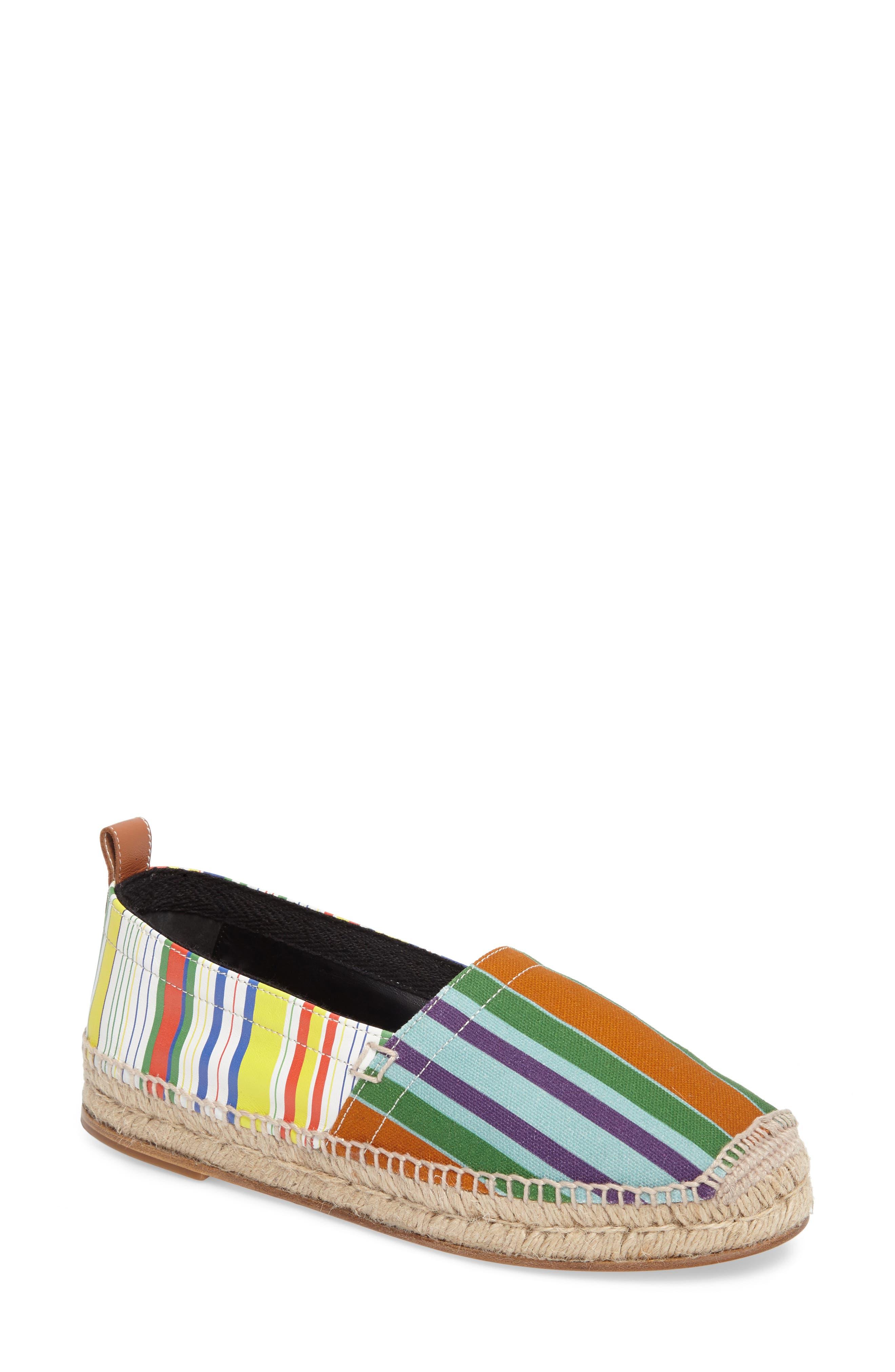 Stripe Espadrille,                         Main,                         color, 400