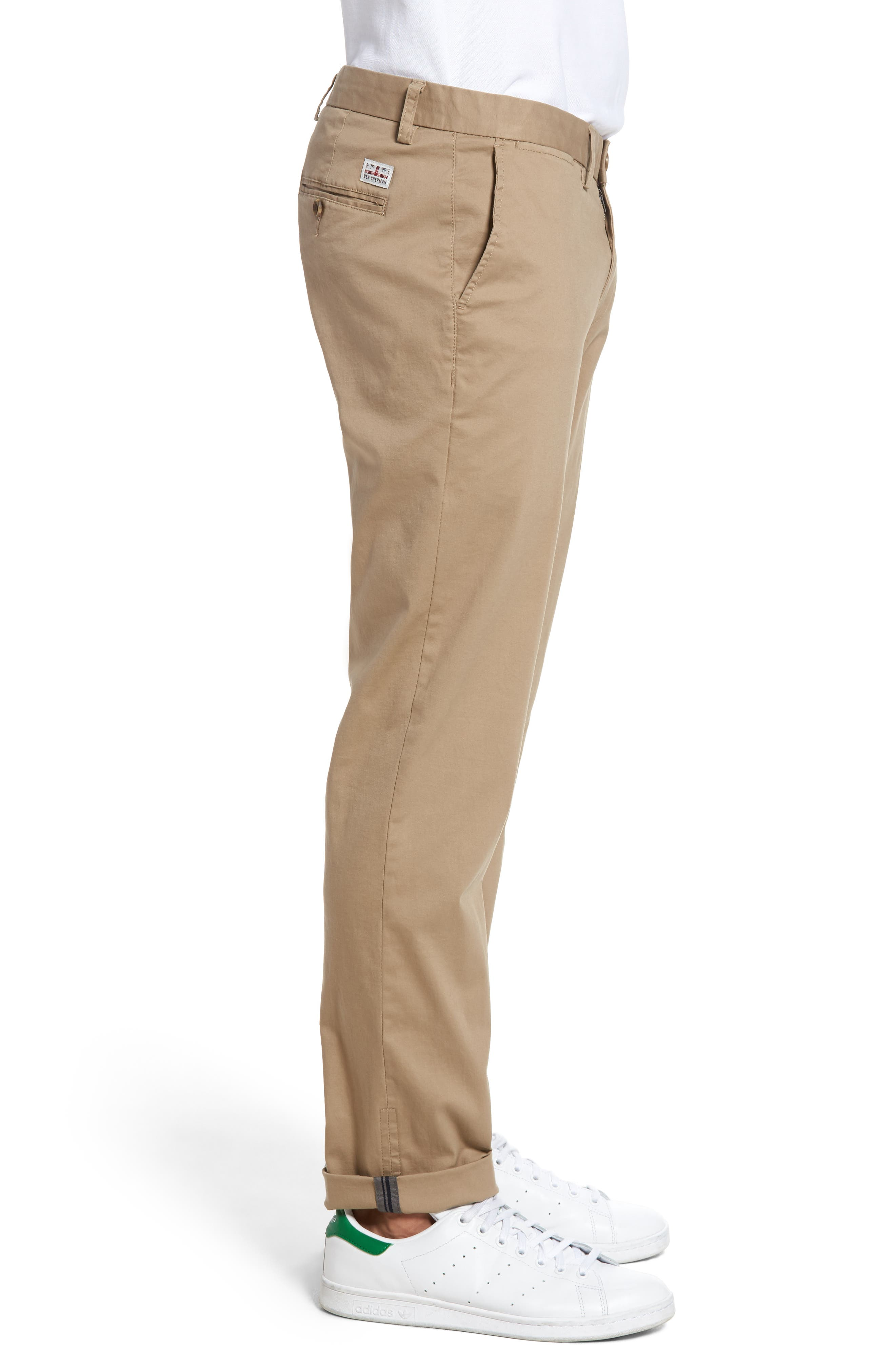 Slim Fit Stretch Chinos,                             Alternate thumbnail 30, color,