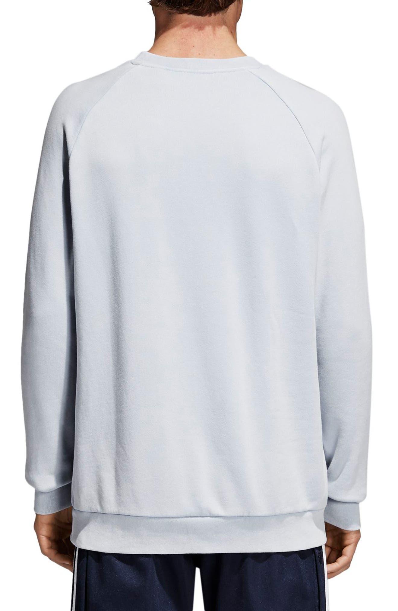 Trefoil Sweatshirt,                             Alternate thumbnail 2, color,                             459