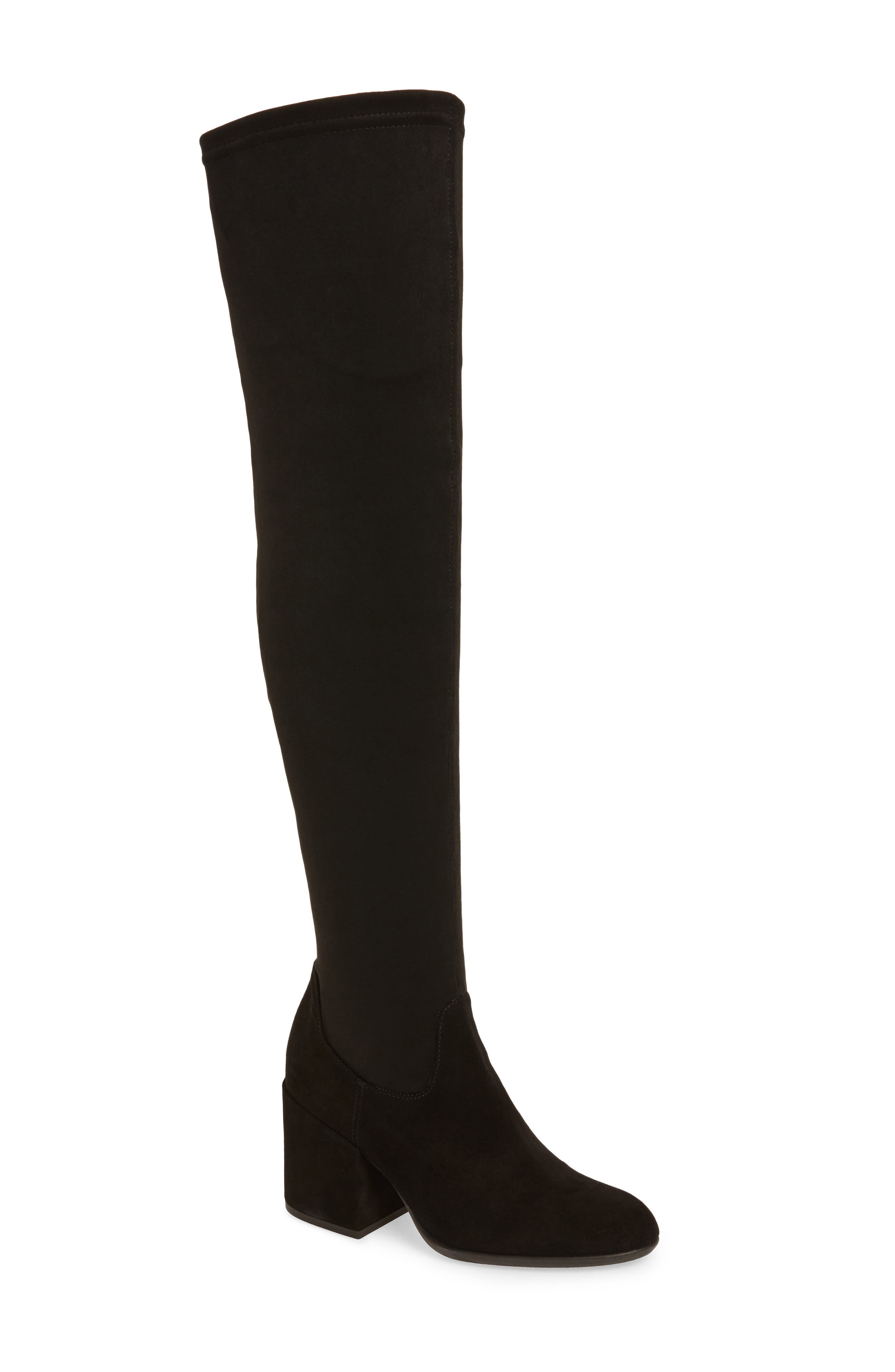 Verve Over the Knee Boot,                             Main thumbnail 1, color,                             001