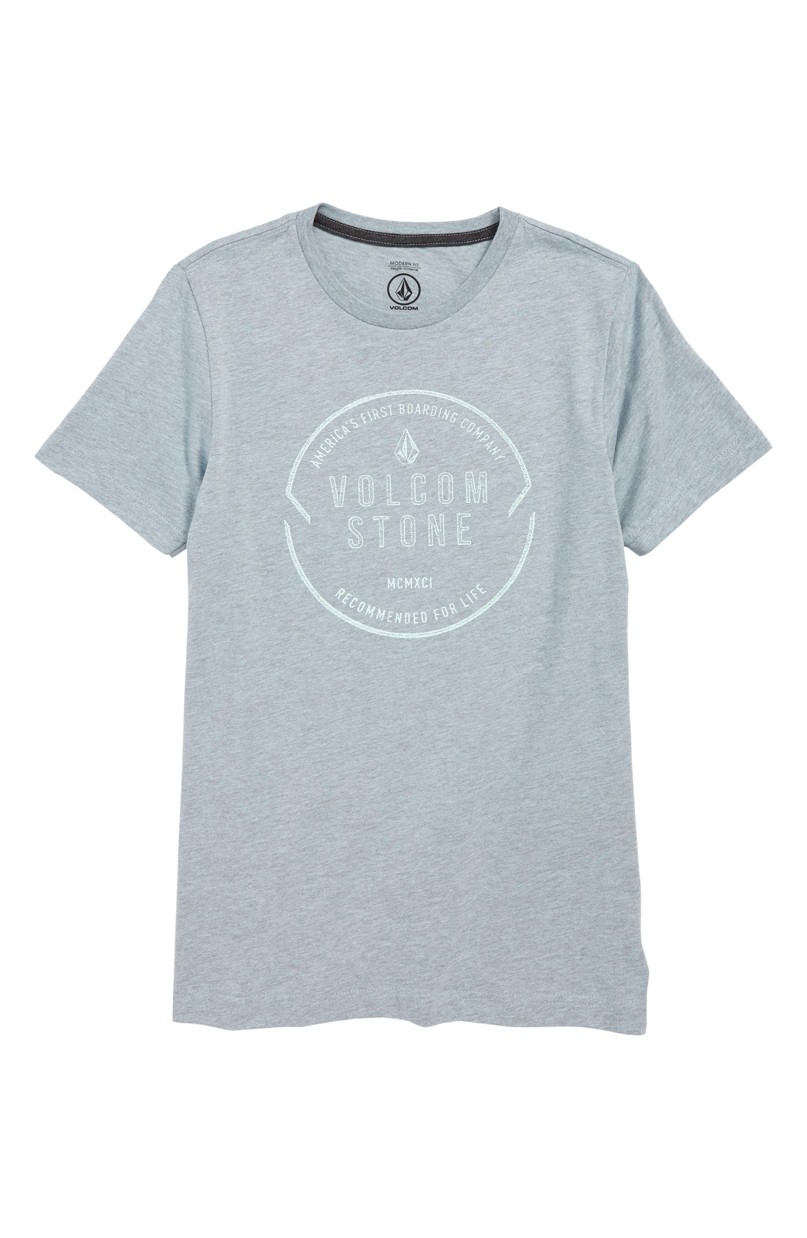 Boys Volcom Chop Around TShirt Size 7  Blue