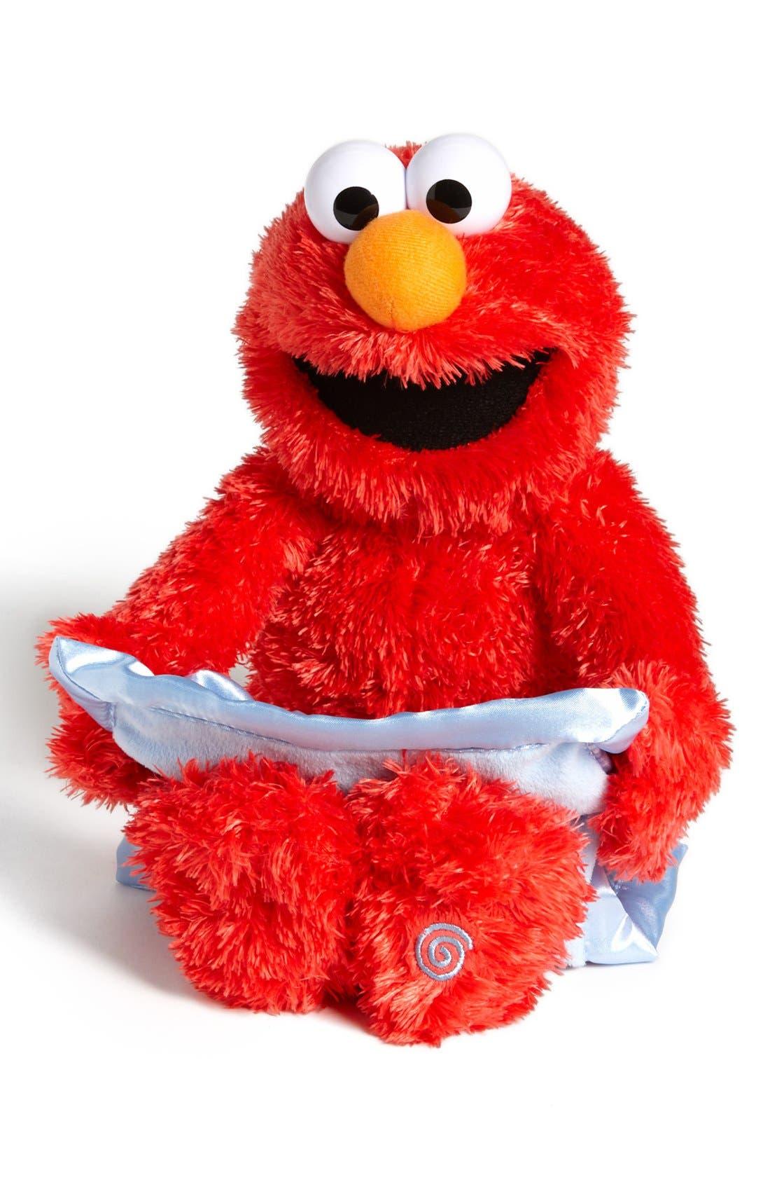 'Sesame Street<sup>®</sup> Peek-A-Boo Elmo<sup>™</sup>' Talking Plush Toy, Main, color, 600