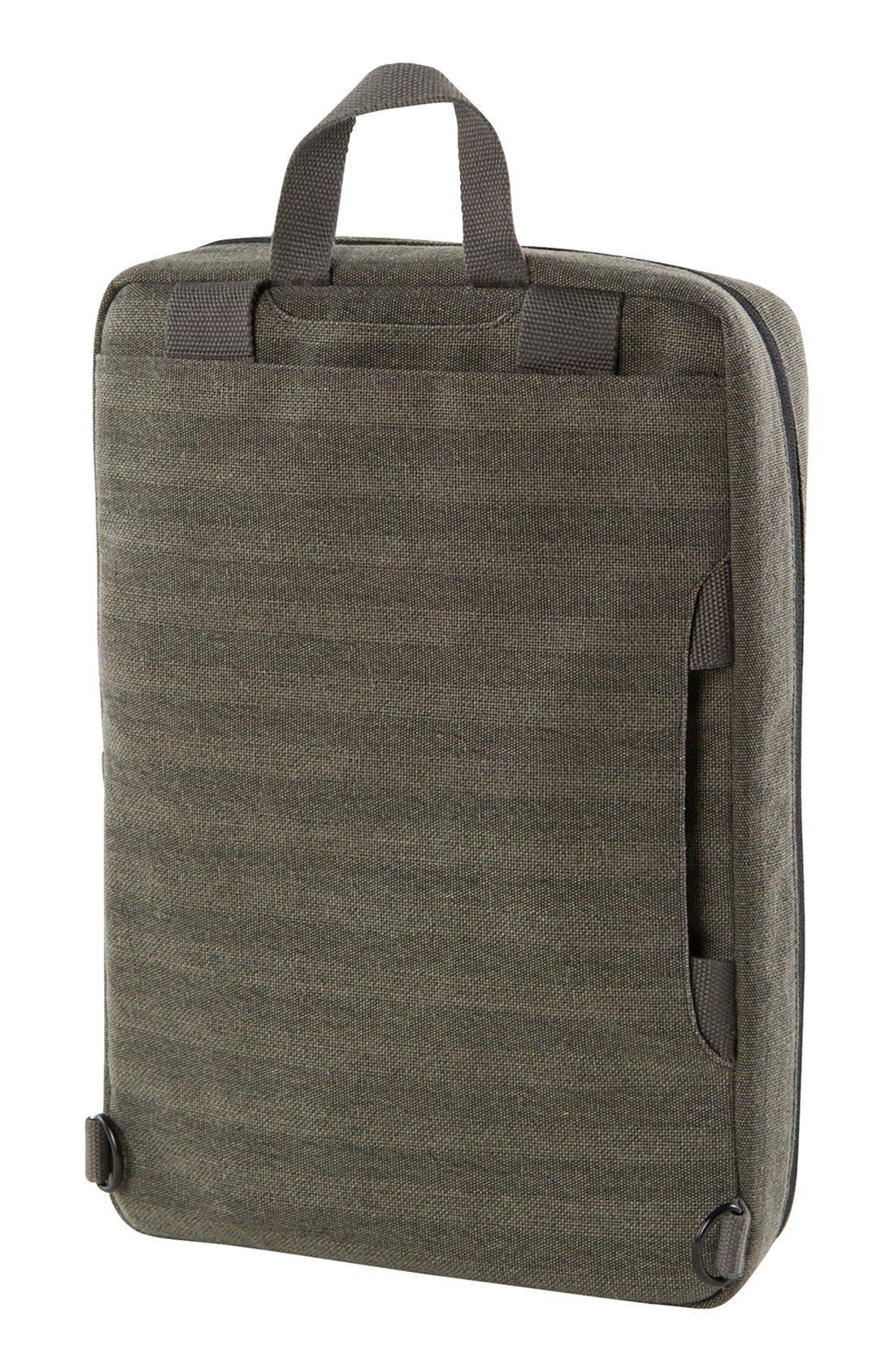 Radar Convertible Water Resistant Briefcase,                             Alternate thumbnail 11, color,