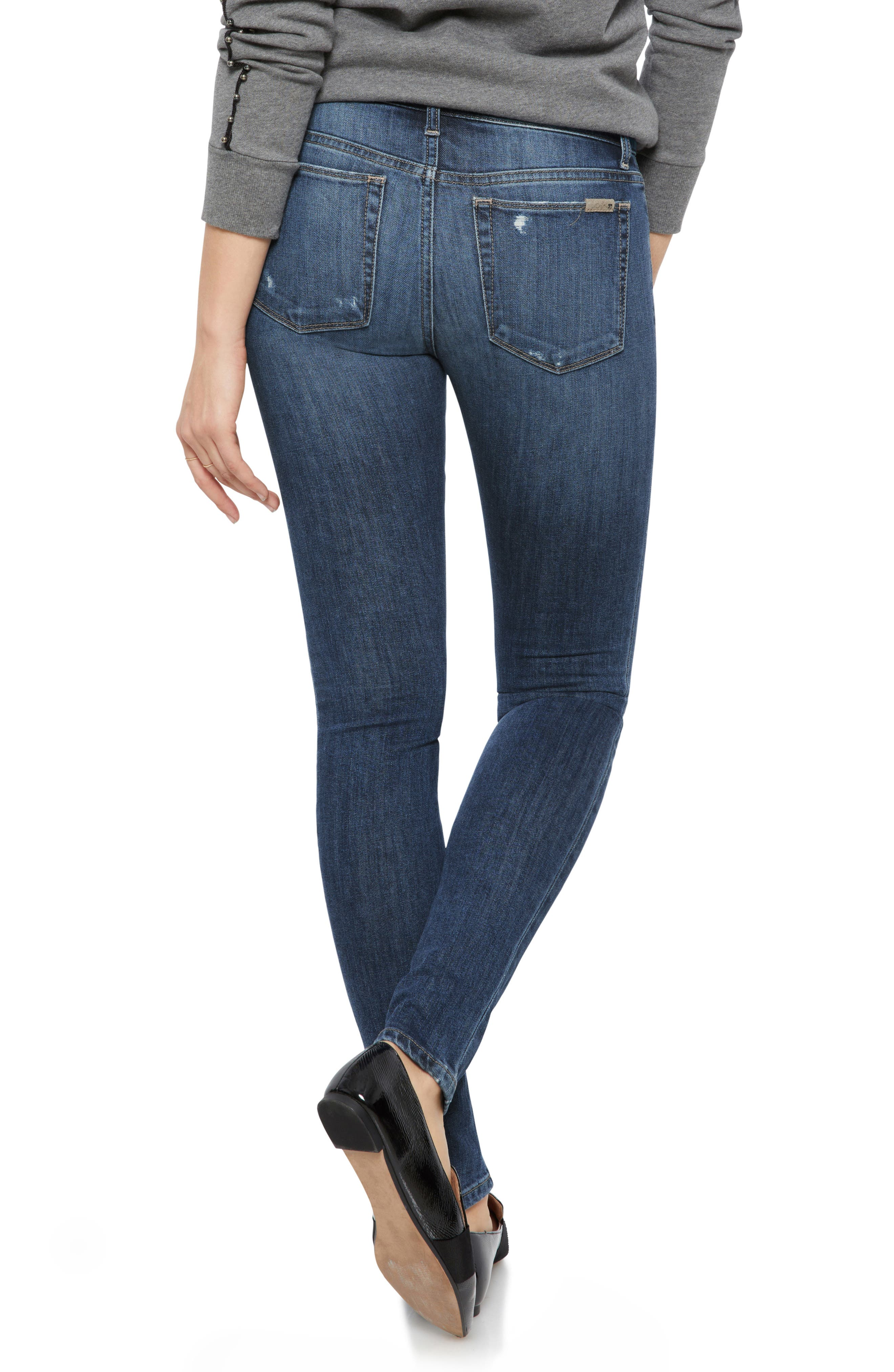 Icon Skinny Jeans,                             Alternate thumbnail 2, color,                             421