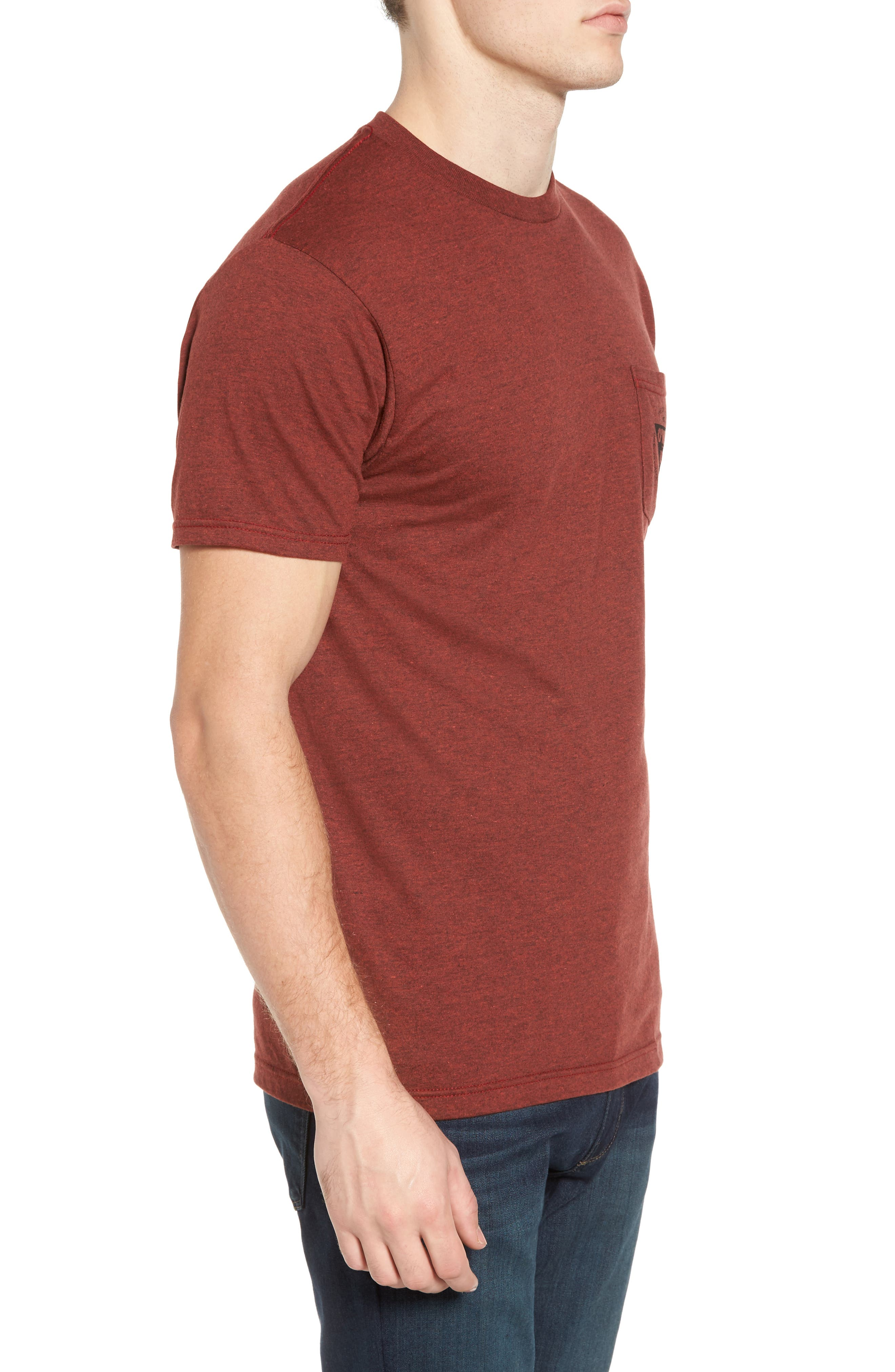 Diver Graphic Pocket T-Shirt,                             Alternate thumbnail 8, color,