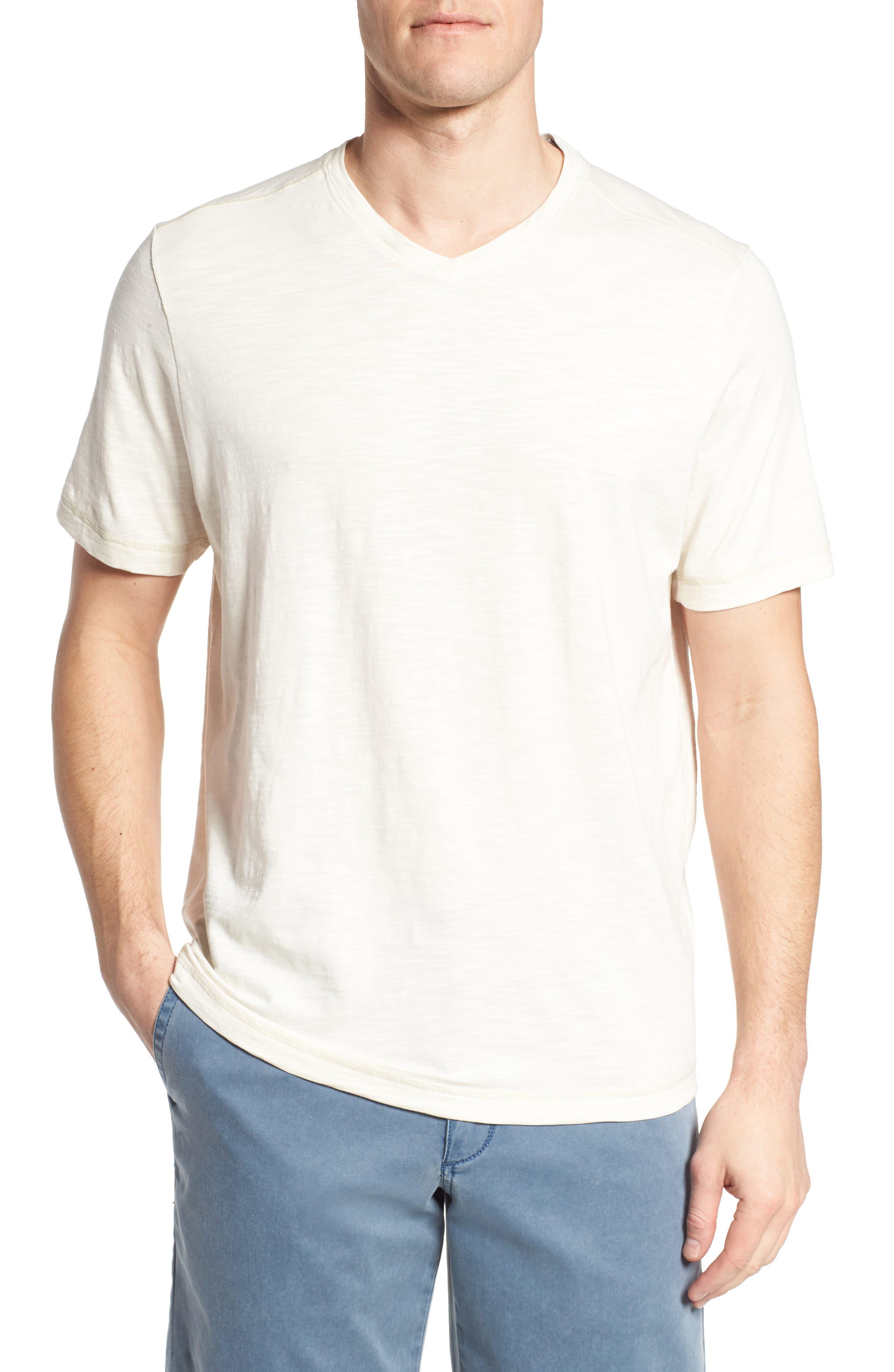 Portside Palms V-Neck T-Shirt,                             Main thumbnail 3, color,