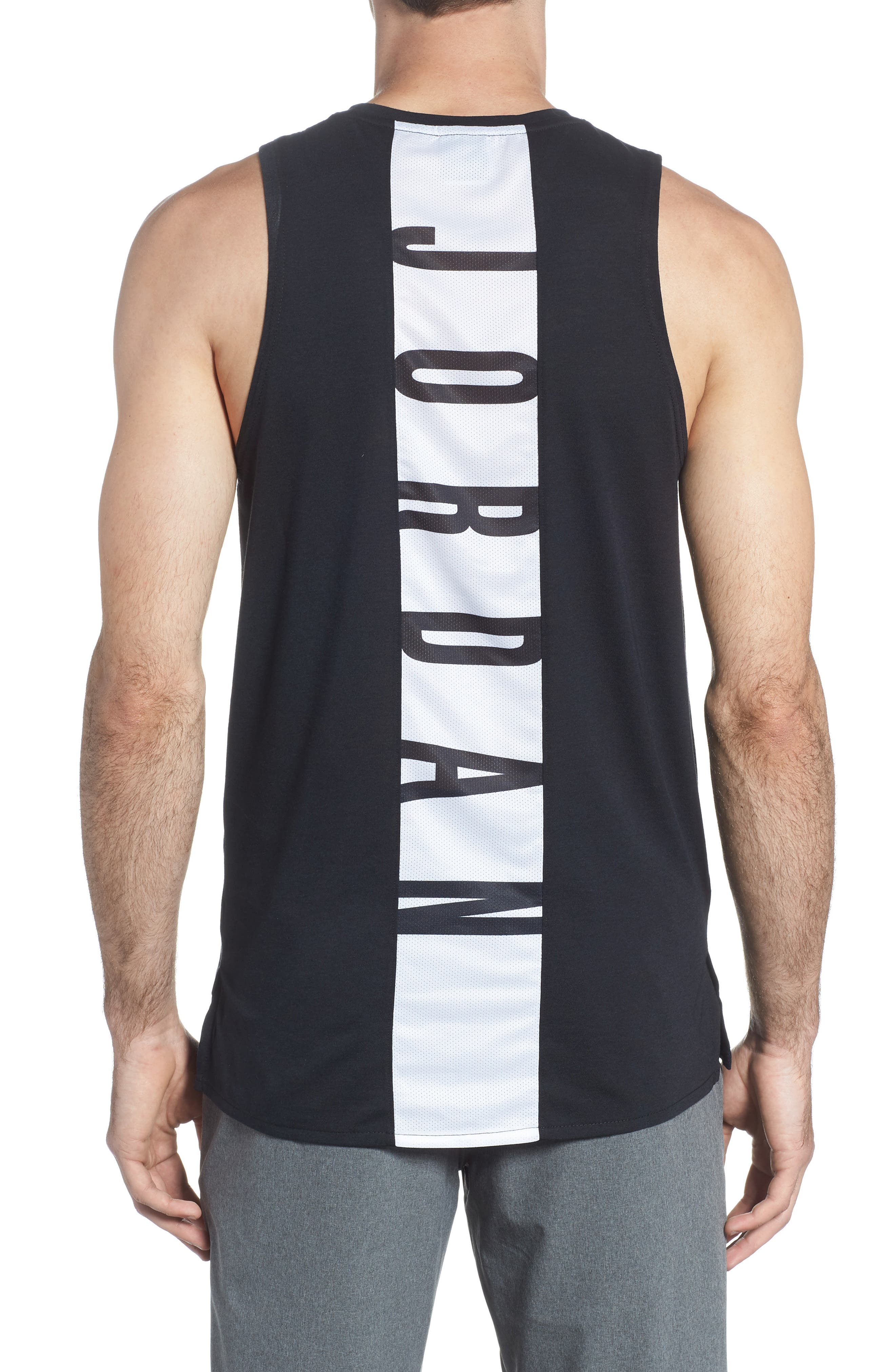 23 Alpha Dry Tank,                             Alternate thumbnail 2, color,                             BLACK/ WHITE