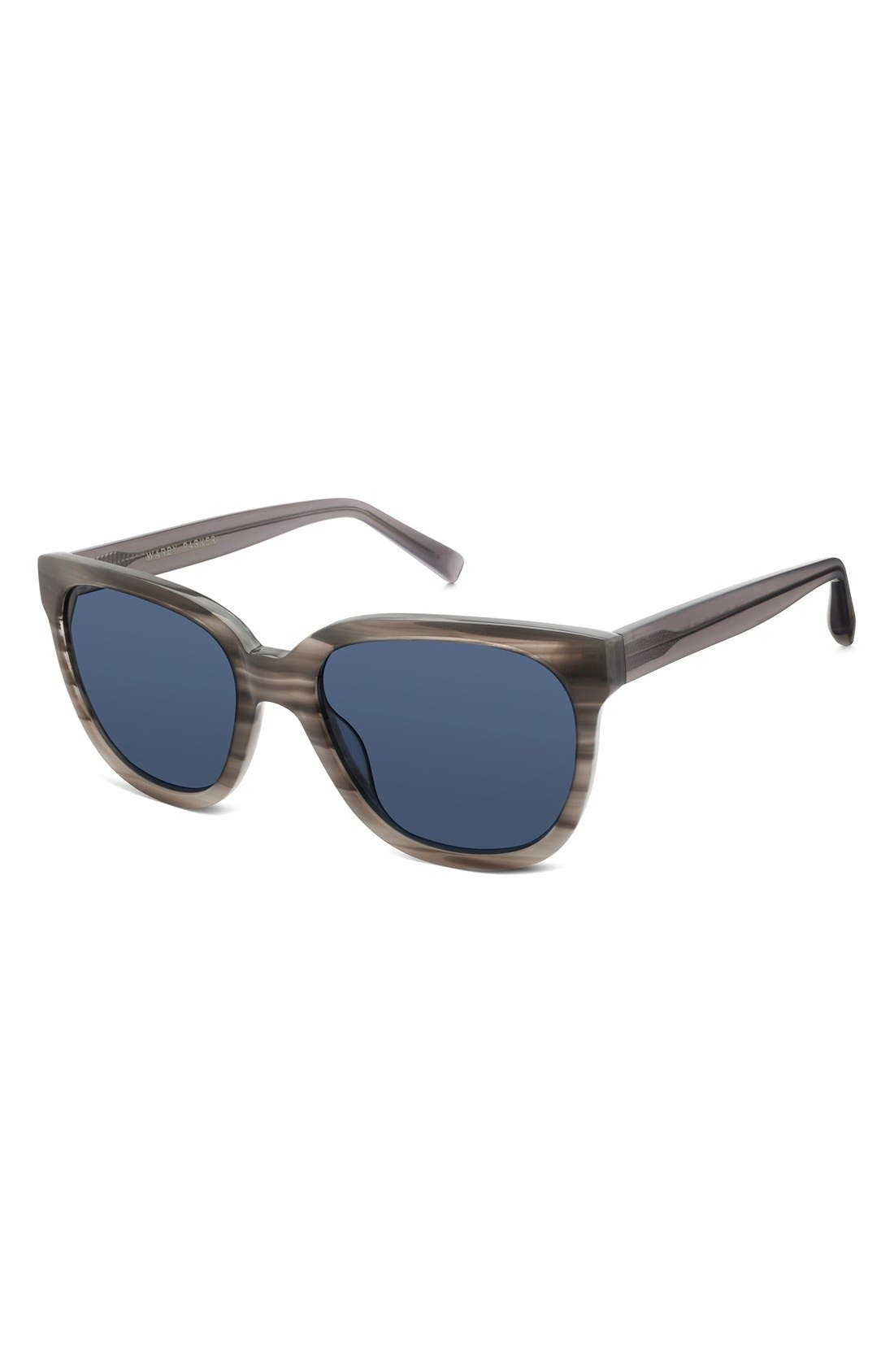 WARBY PARKER,                             'Reilly' 55mm Polarized Sunglasses,                             Alternate thumbnail 3, color,                             060