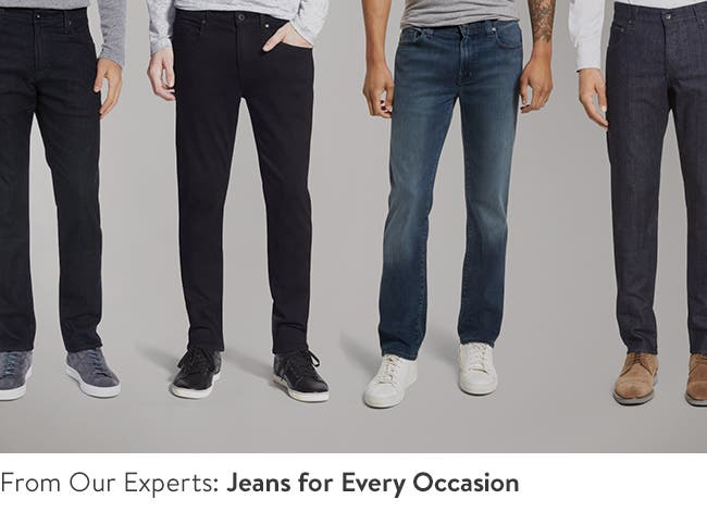 Men's jeans for every occasion video.