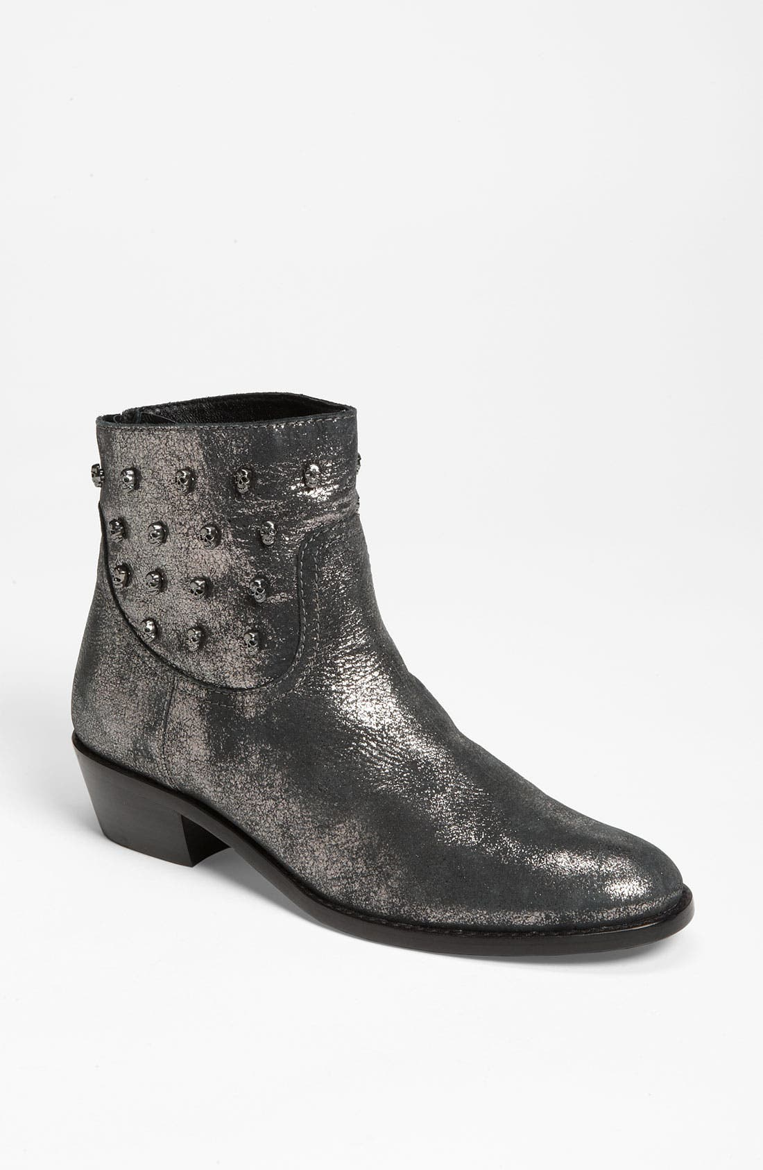 ZADIG & VOLTAIRE 'Teddy' Boot, Main, color, 001