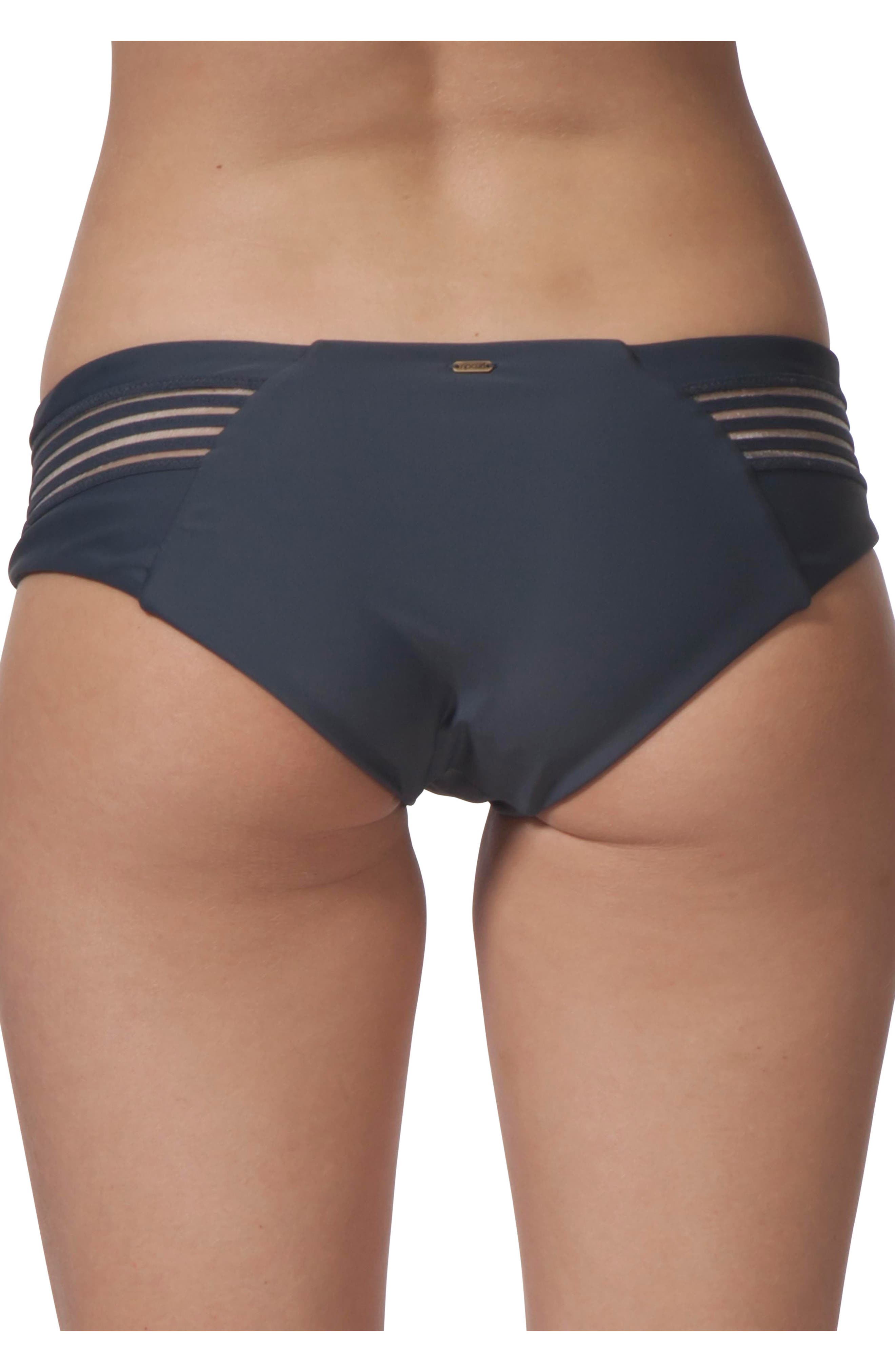 Illusion Hipster Bikini Bottoms,                             Alternate thumbnail 2, color,
