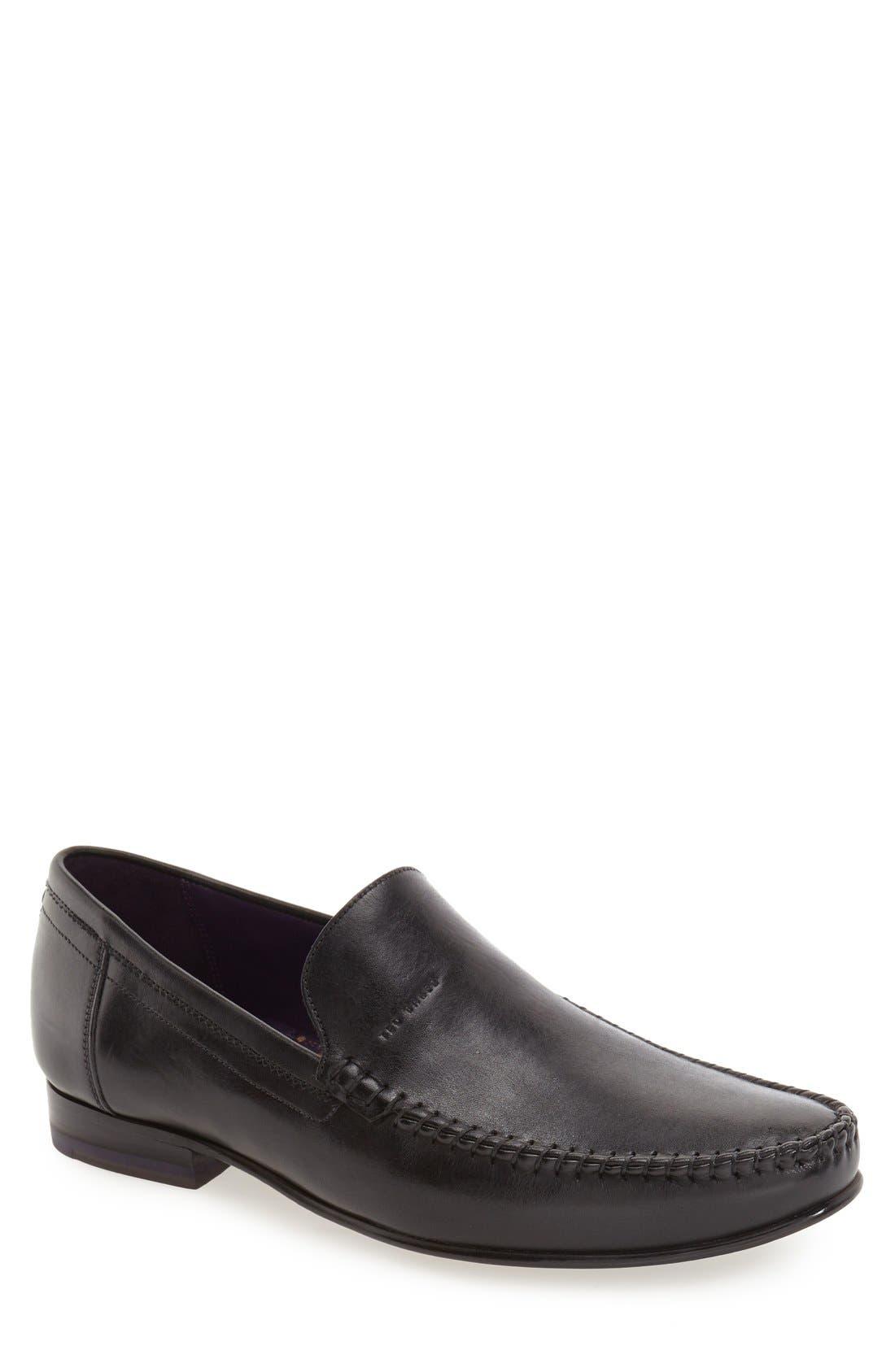 'Simeen 3' Venetian Loafer,                         Main,                         color, 001