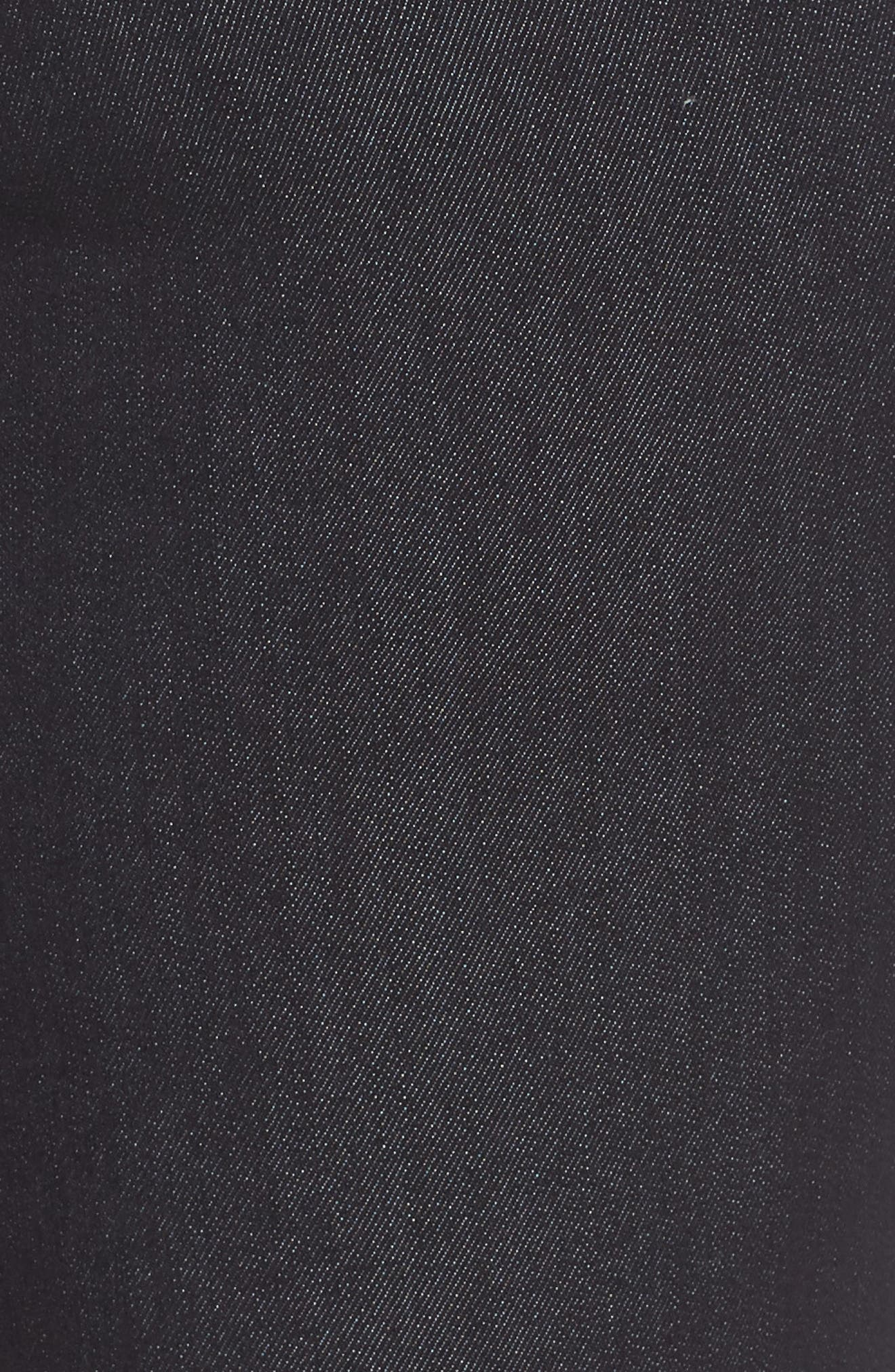 30/11 Ab-solution High Waist Skinny Jeans,                             Alternate thumbnail 5, color,                             INDIGO