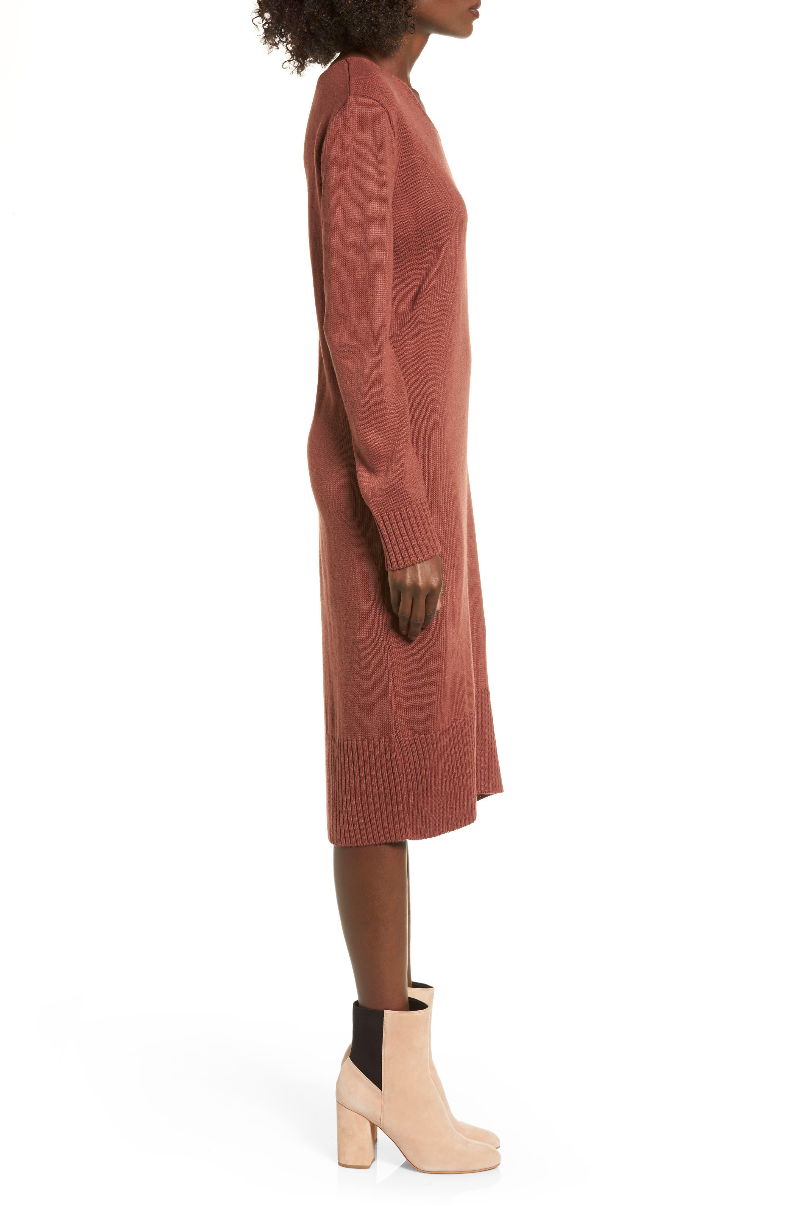 Sweater Dress,                             Alternate thumbnail 9, color,