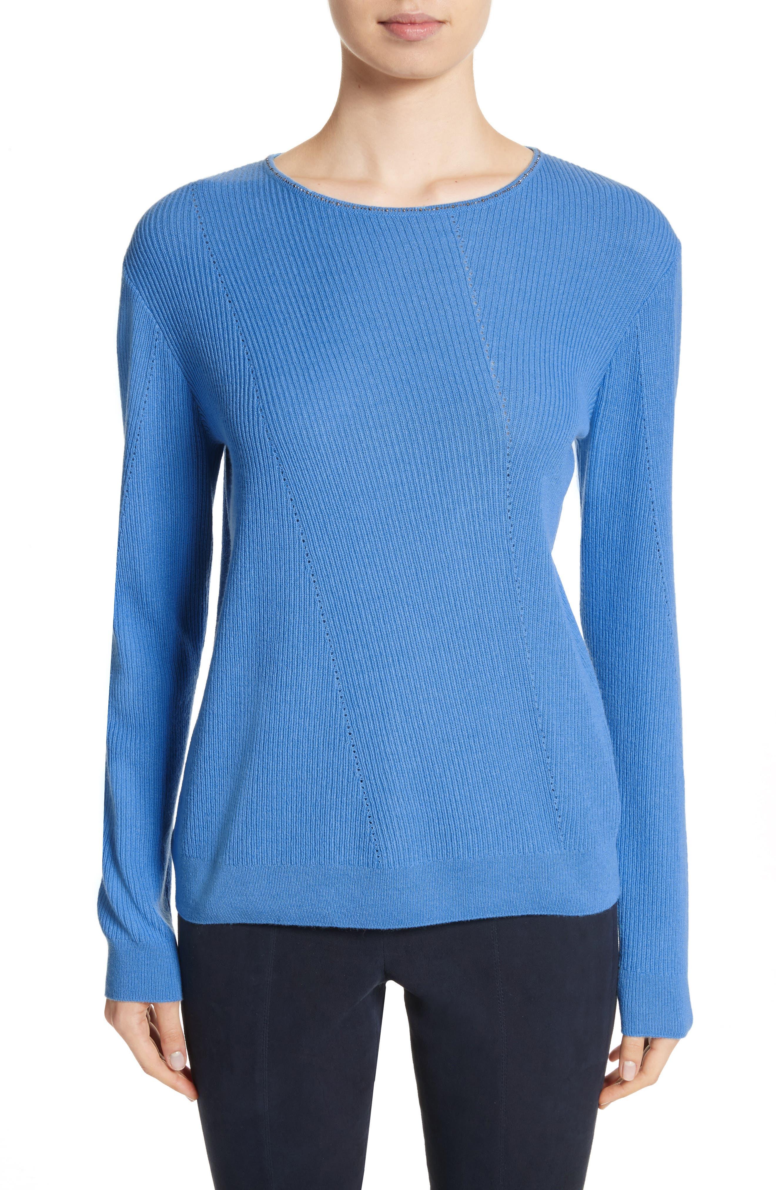 Cashmere Sweater,                             Main thumbnail 1, color,                             420