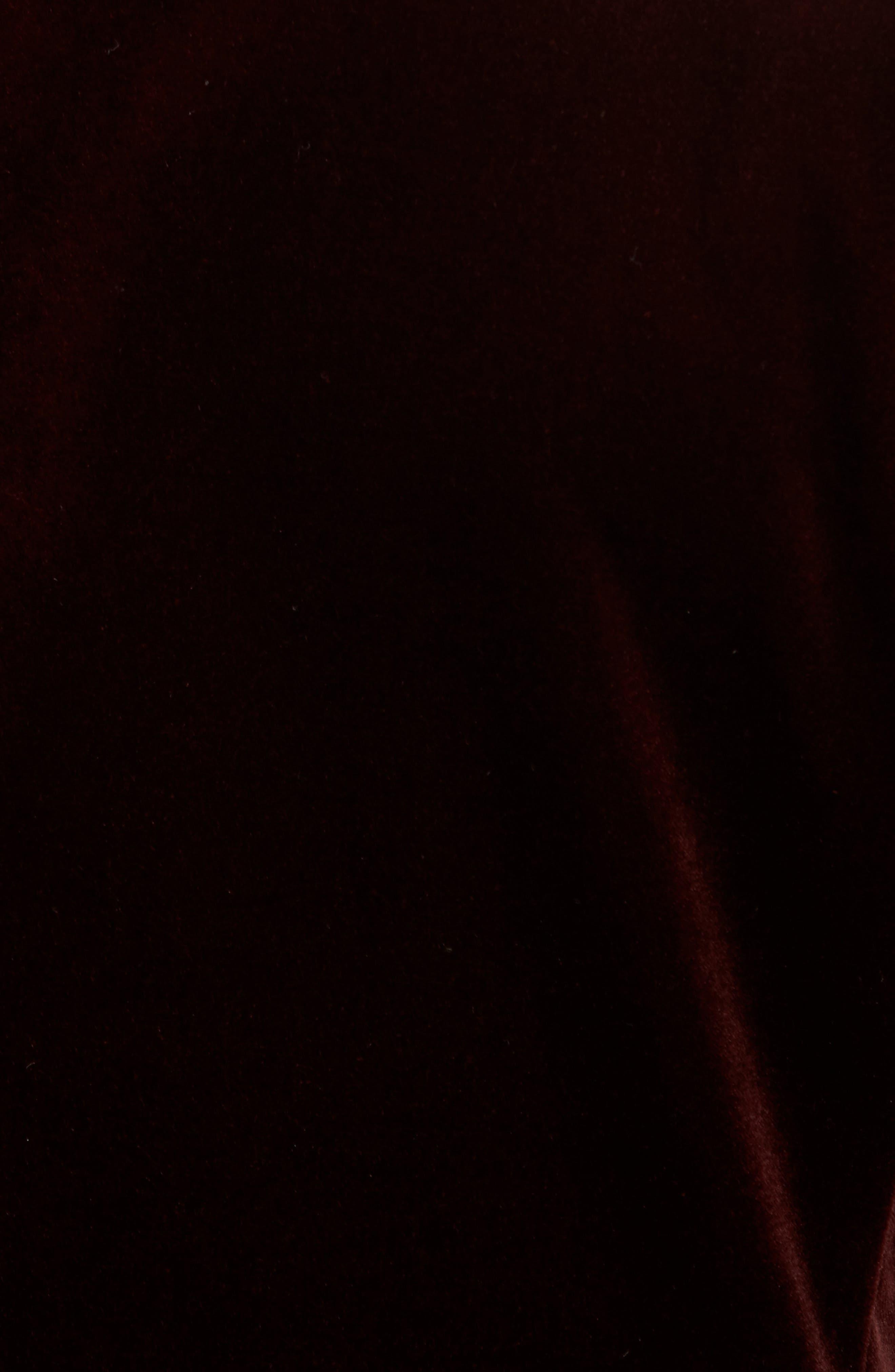 Noble Trim Fit Velvet Blazer,                             Alternate thumbnail 6, color,                             935
