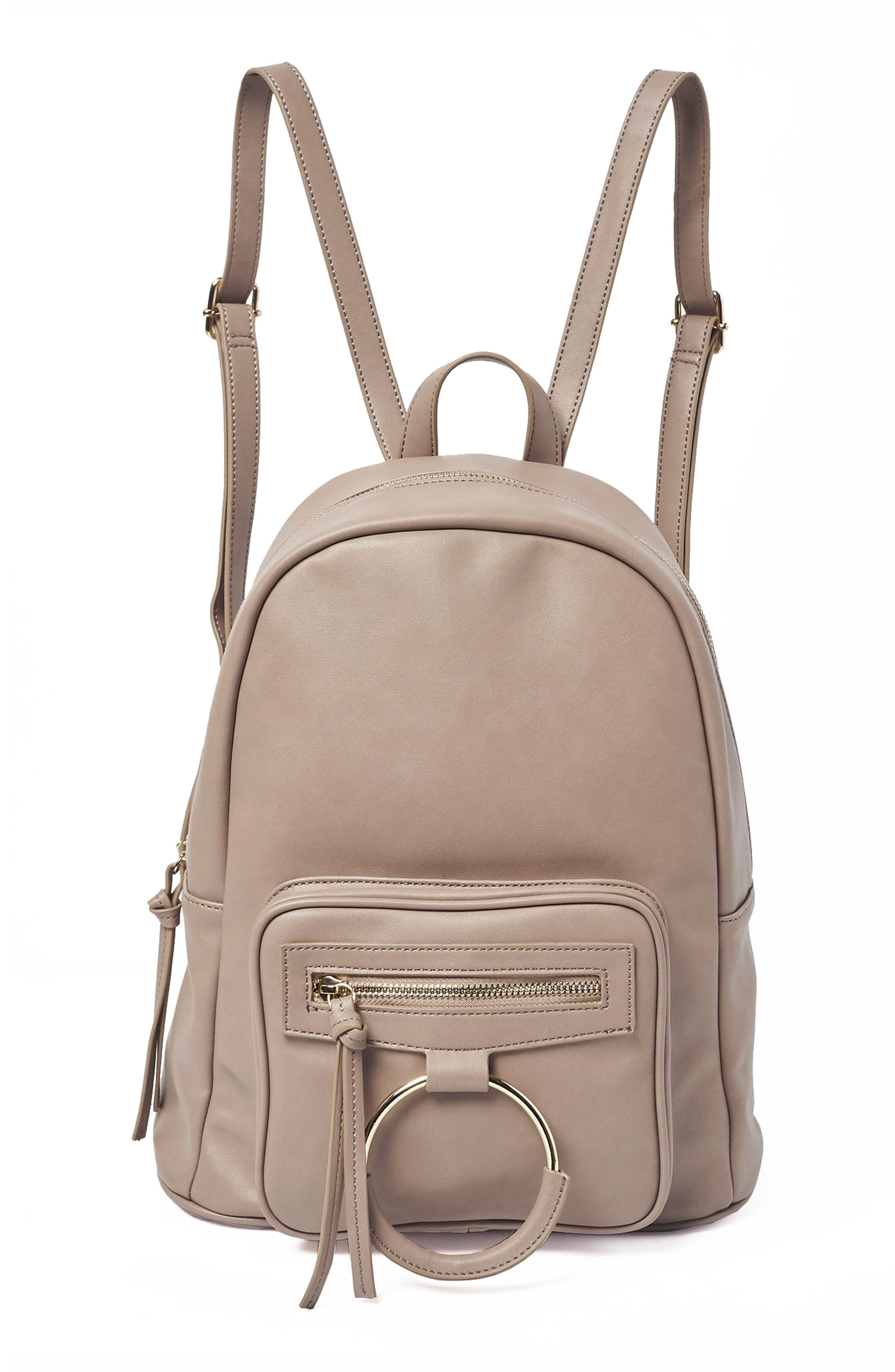 Sublime Vegan Leather Backpack,                             Main thumbnail 2, color,