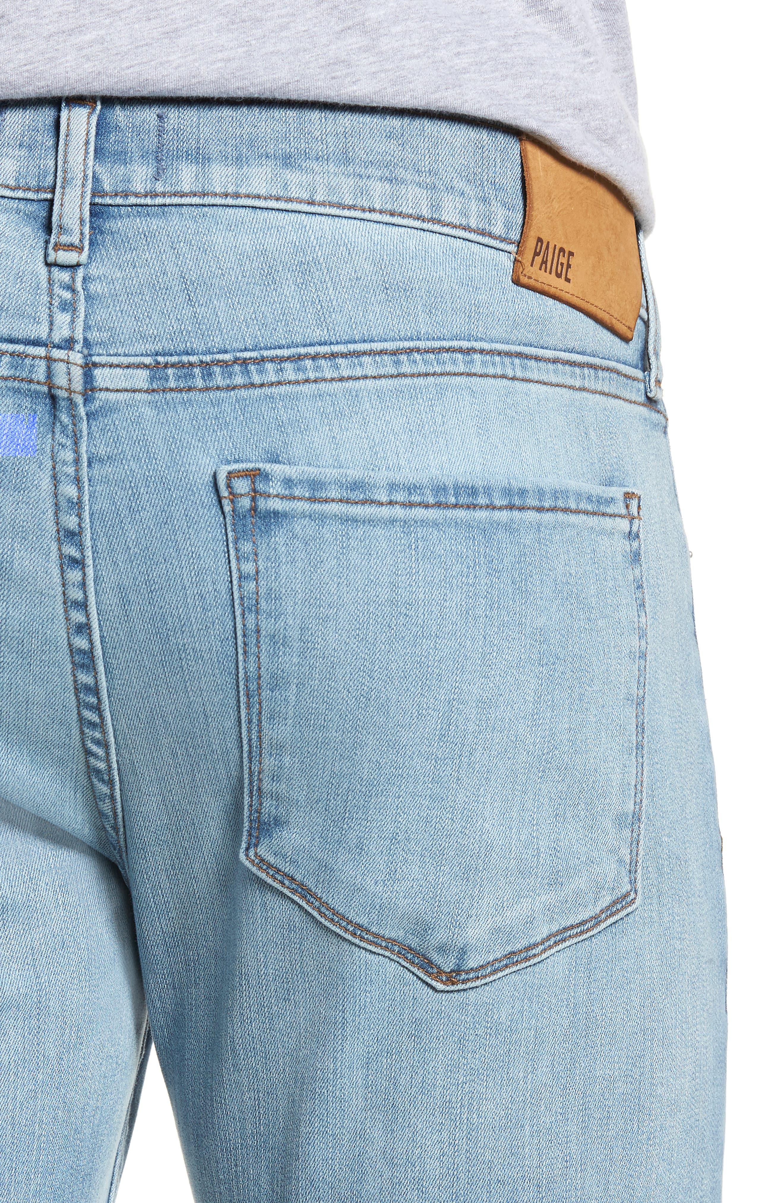 Transcend Vintage - Lennox Slim Fit Jeans,                             Alternate thumbnail 4, color,                             DENVER