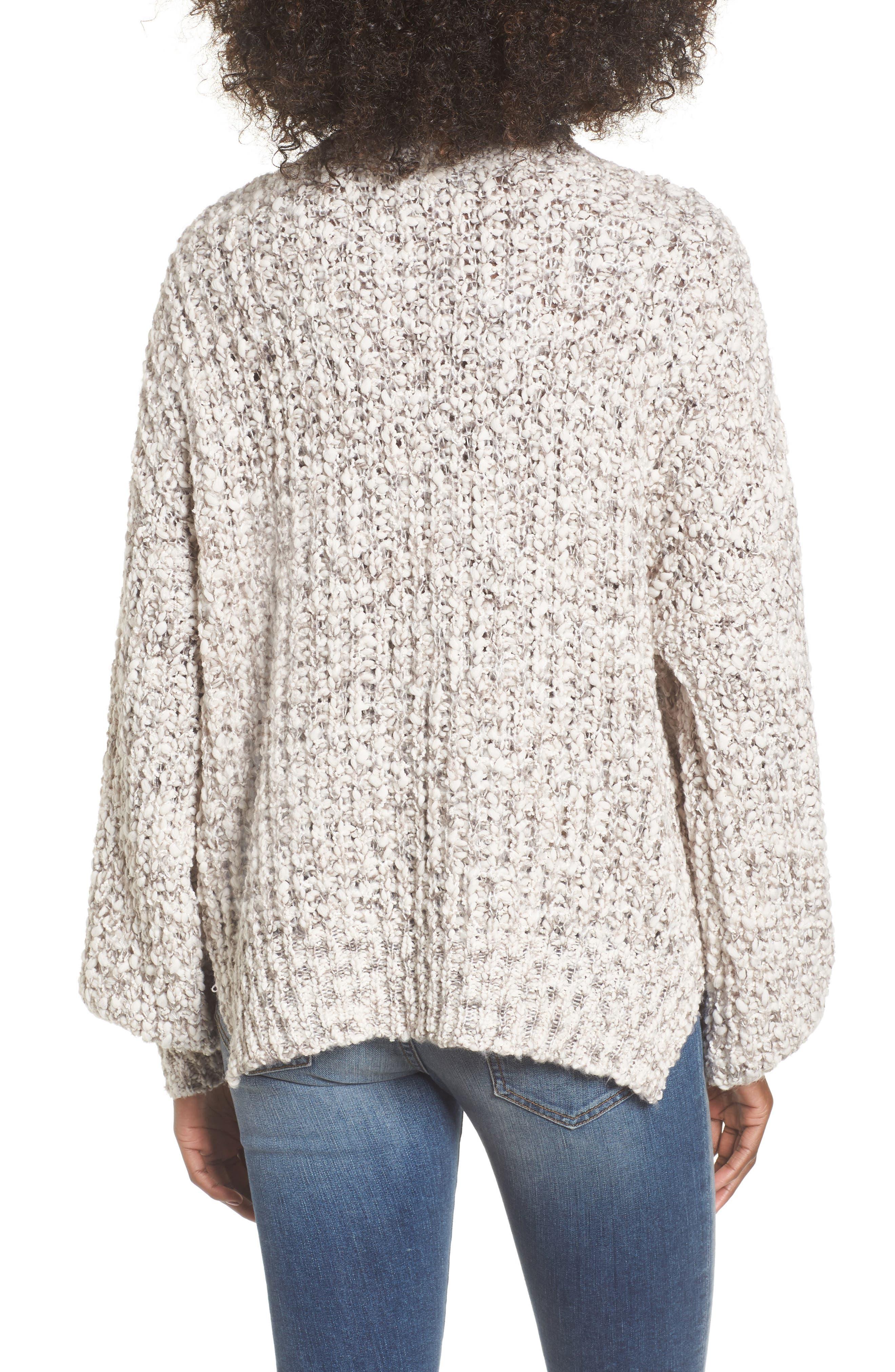 Chunky Knit Mock Neck Sweater,                             Alternate thumbnail 2, color,                             900