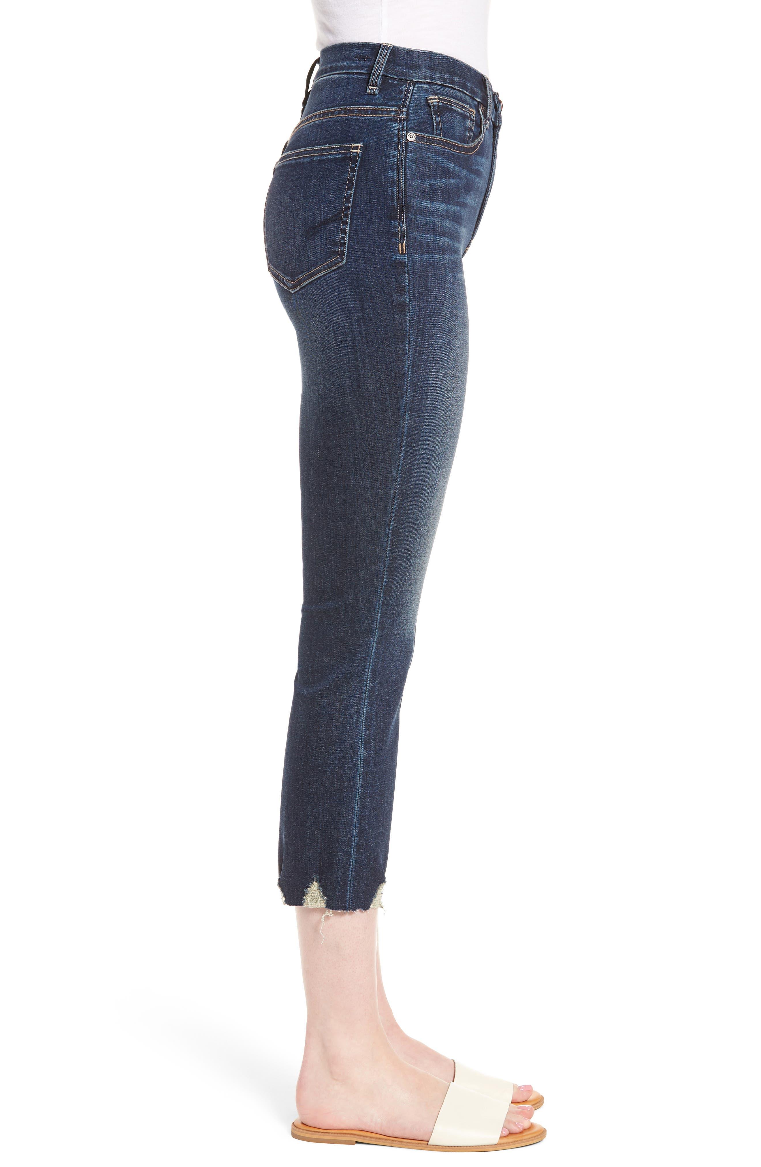 Palo Double Bite Crop Jeans,                             Alternate thumbnail 3, color,