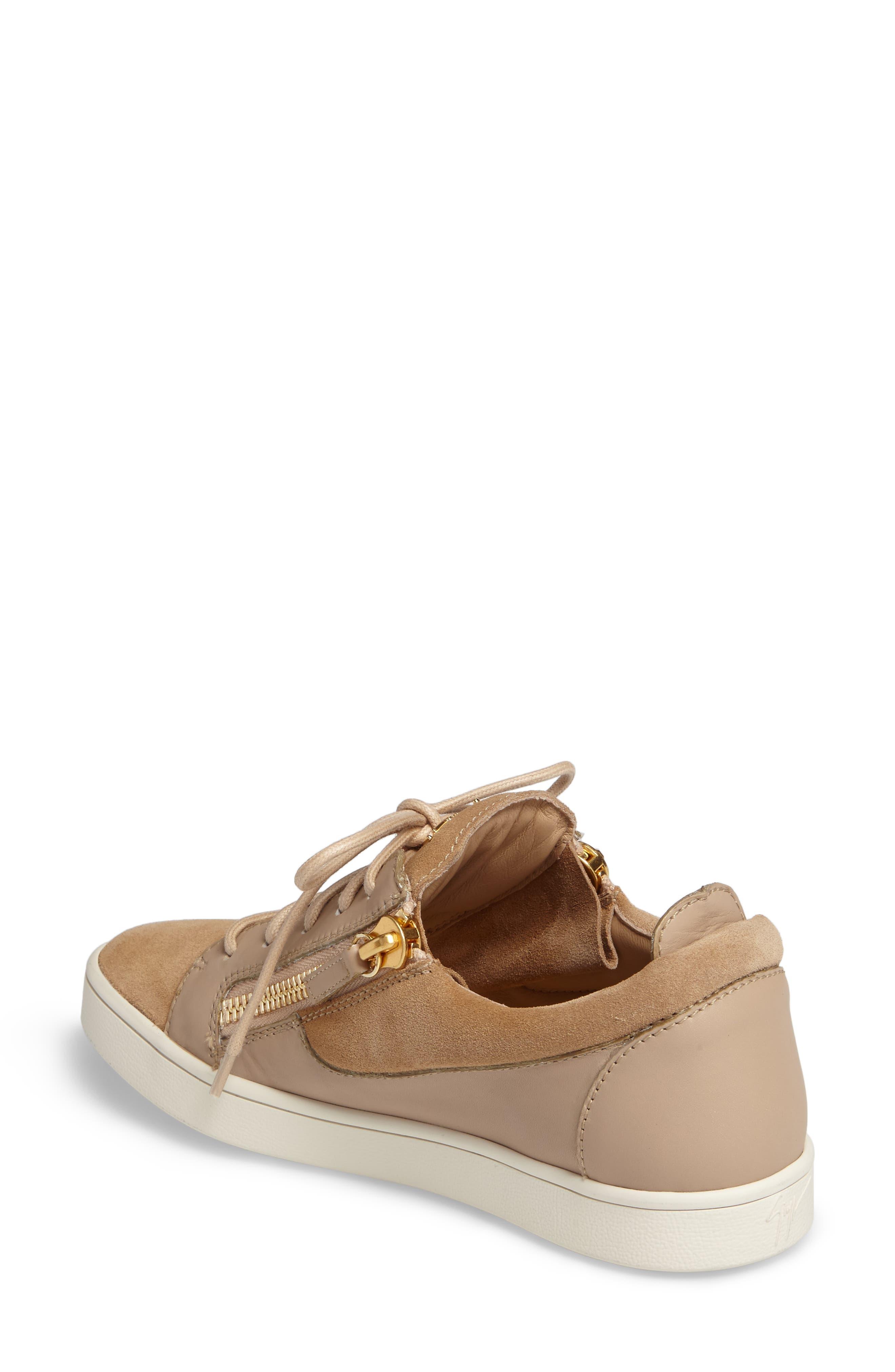 Low Top Zip Sneaker,                             Alternate thumbnail 2, color,                             250