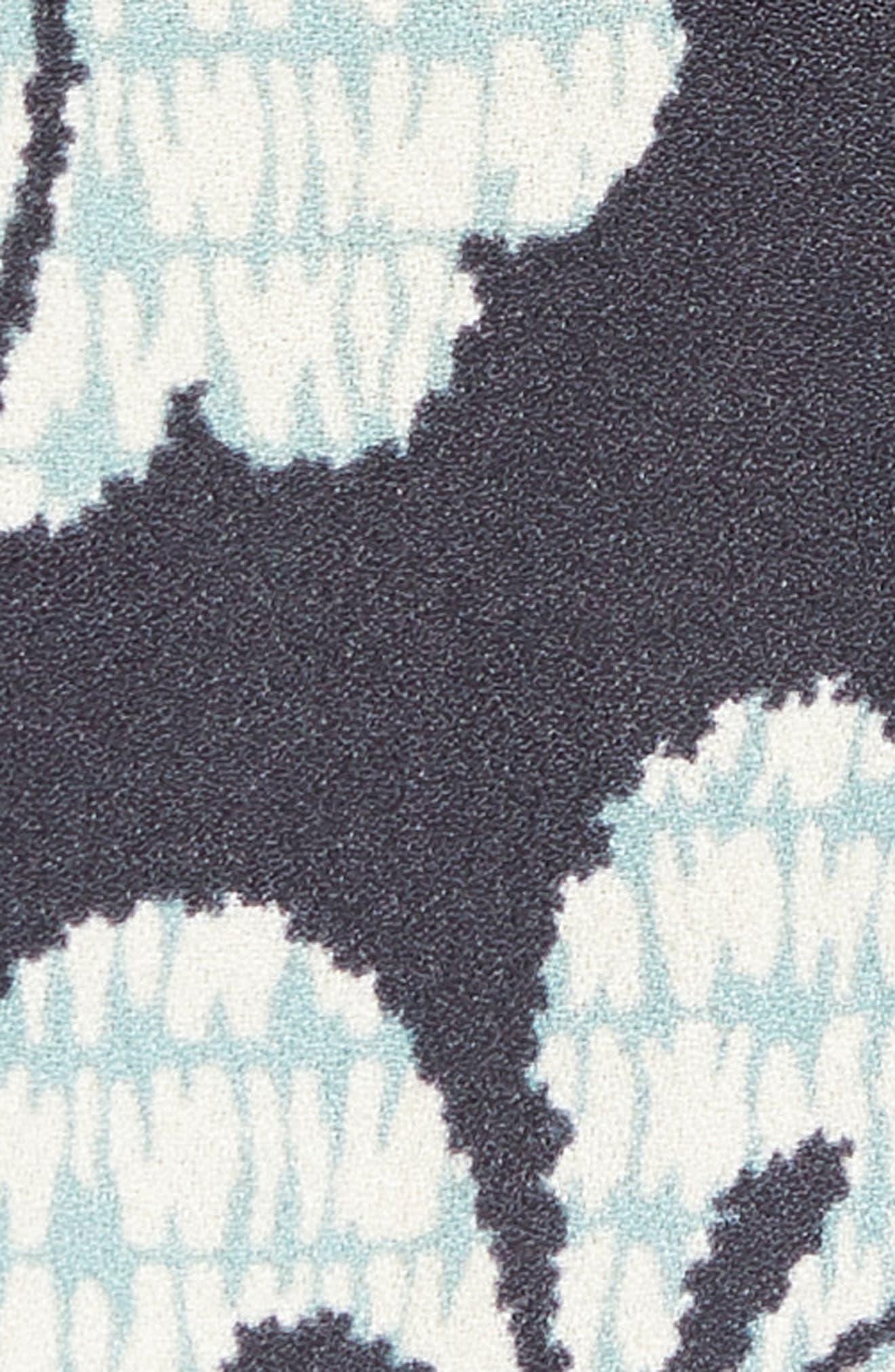 Oversize Safari Woven Shirt,                             Alternate thumbnail 5, color,                             001