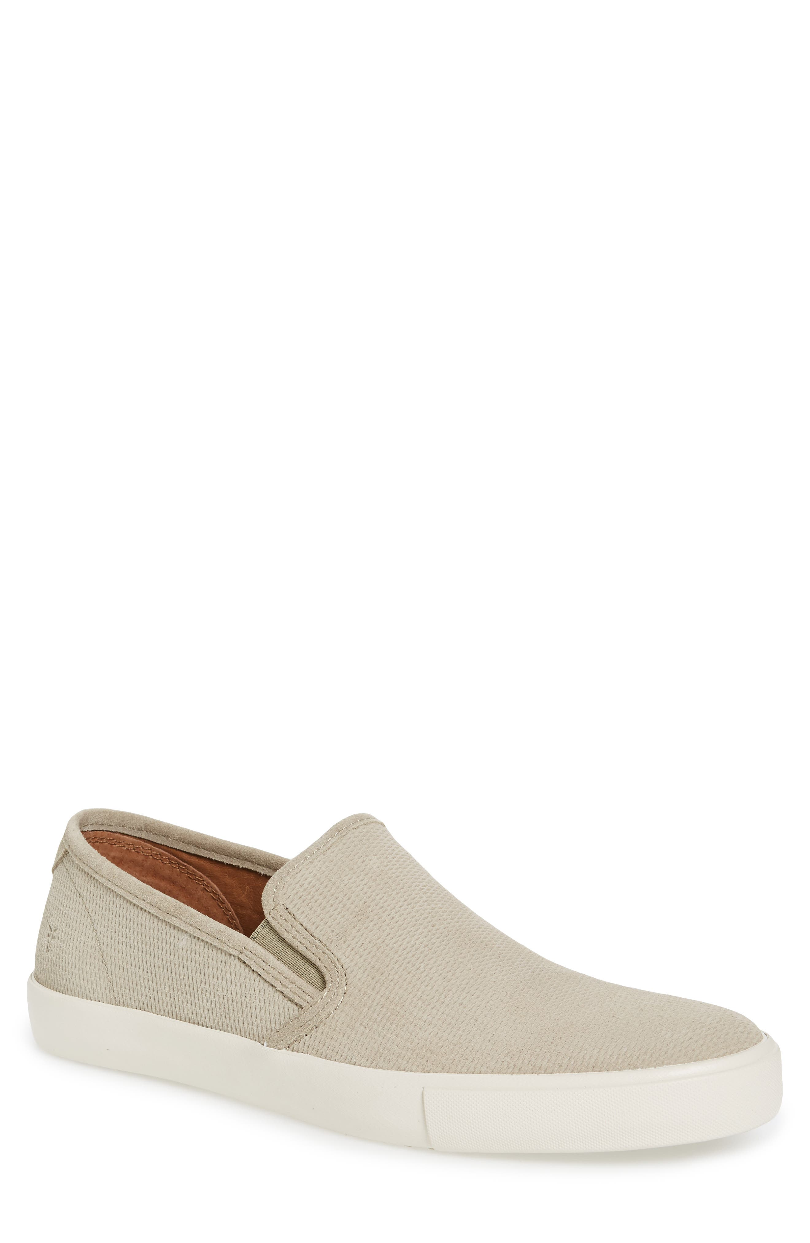 Brett Slip-On,                         Main,                         color, FAWN SUEDE