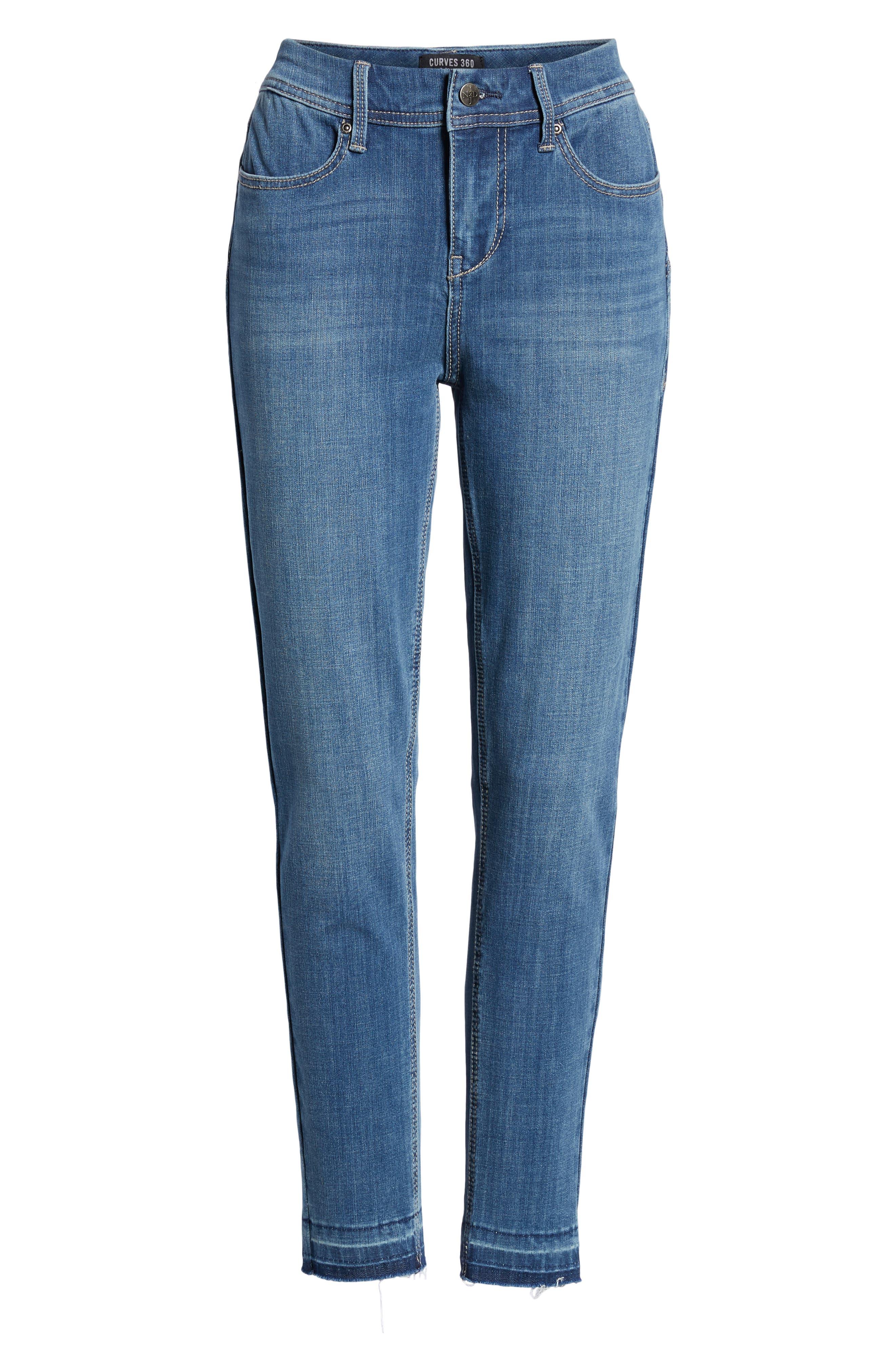 Release Hem Skinny Jeans,                             Alternate thumbnail 6, color,                             LEAR