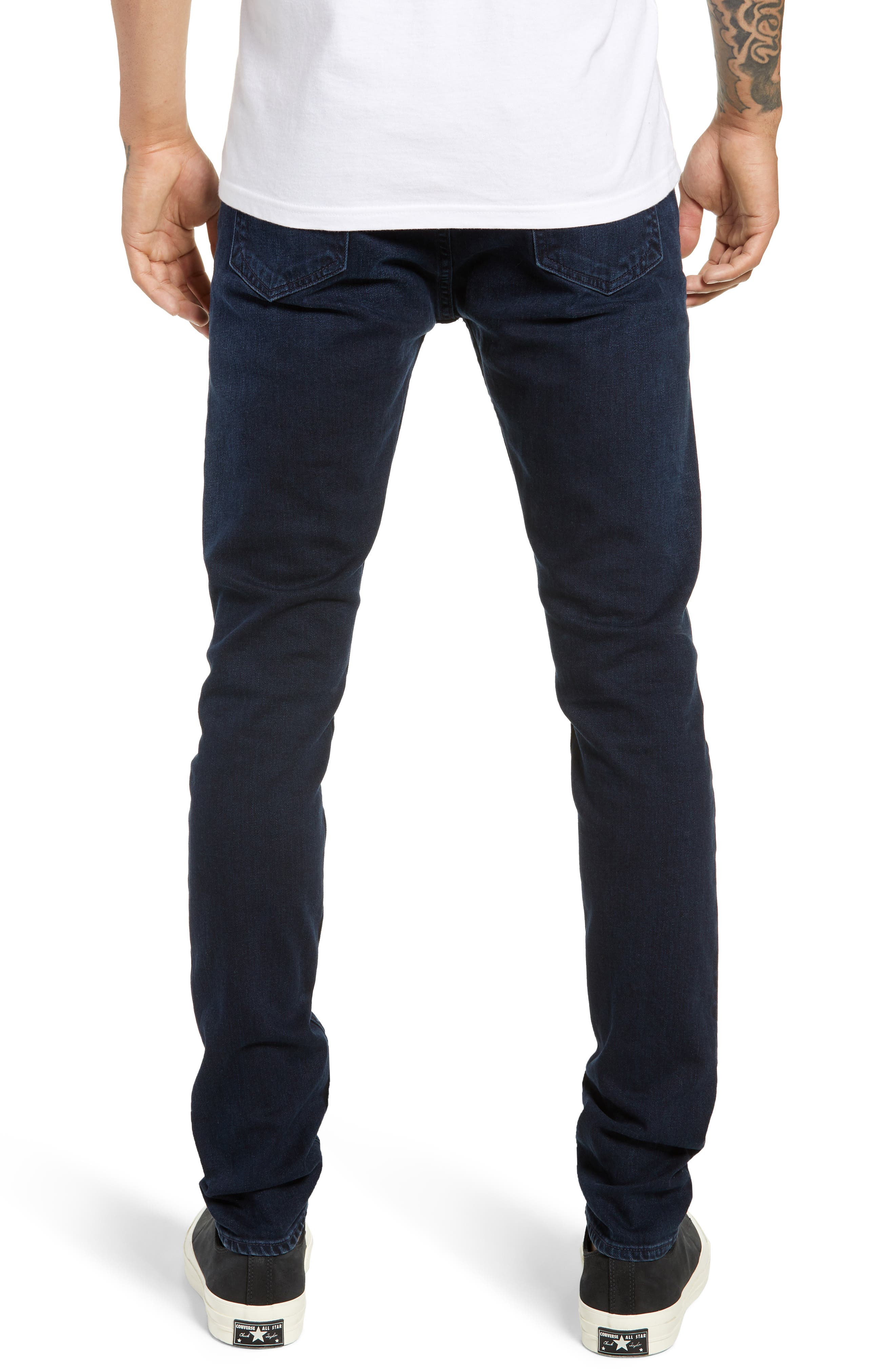 Fit 1 Skinny Fit Jeans,                             Alternate thumbnail 2, color,                             420