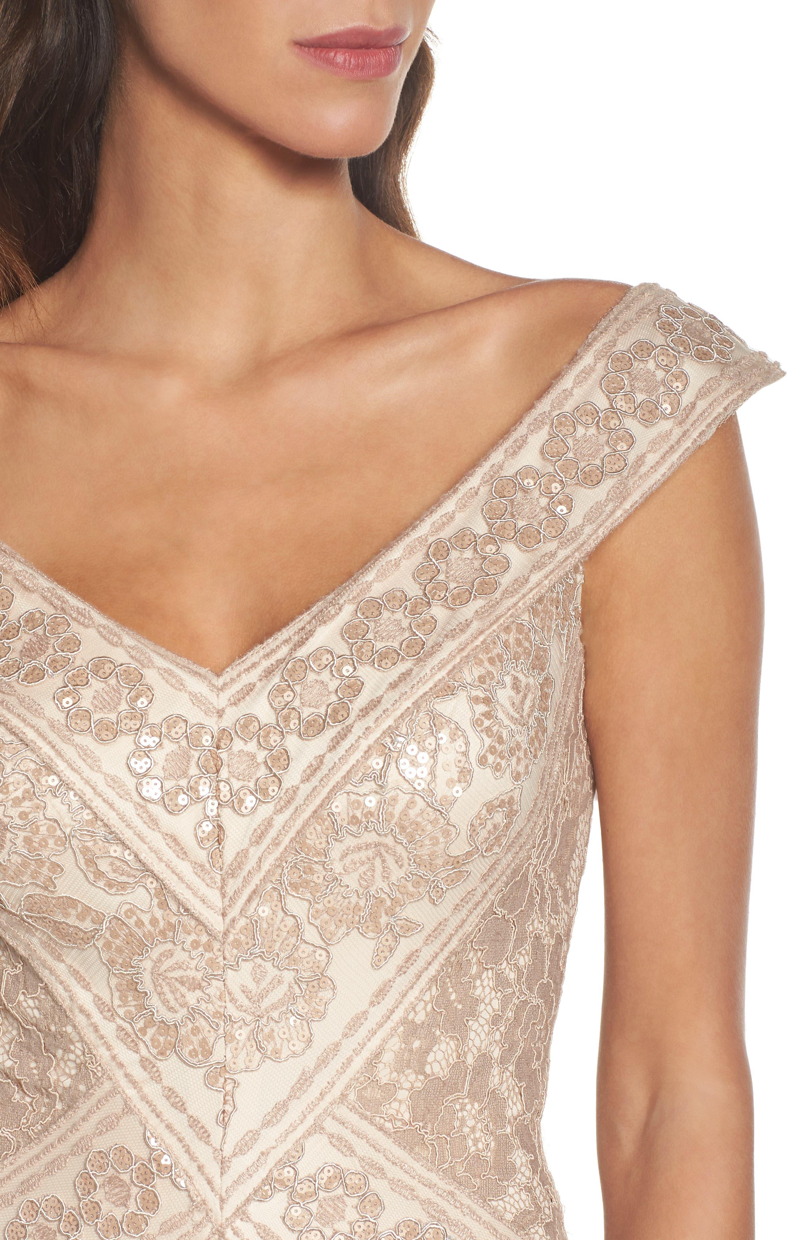 Sequin Gown,                             Alternate thumbnail 4, color,