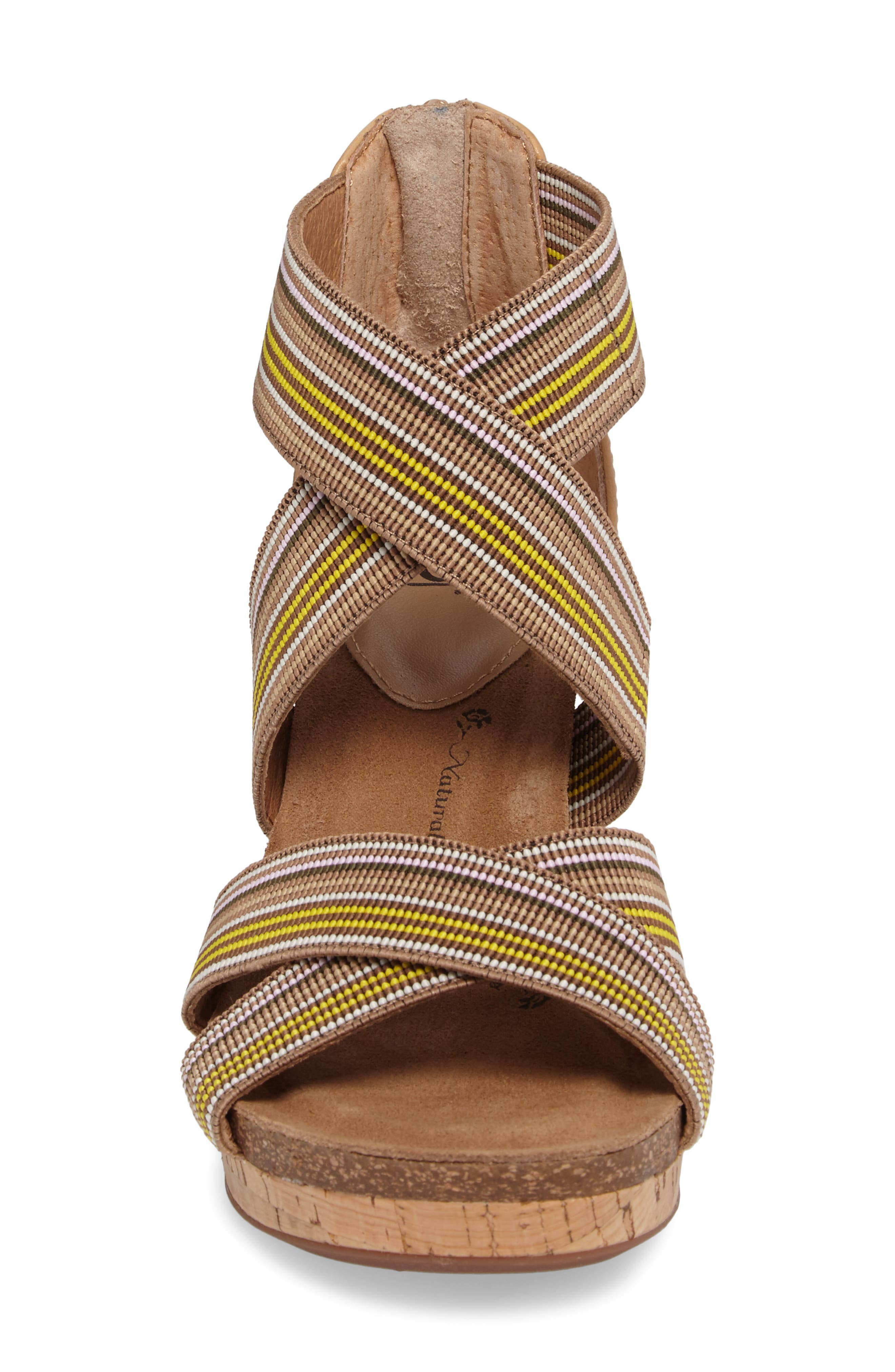 Cary Cross Strap Wedge Sandal,                             Alternate thumbnail 10, color,