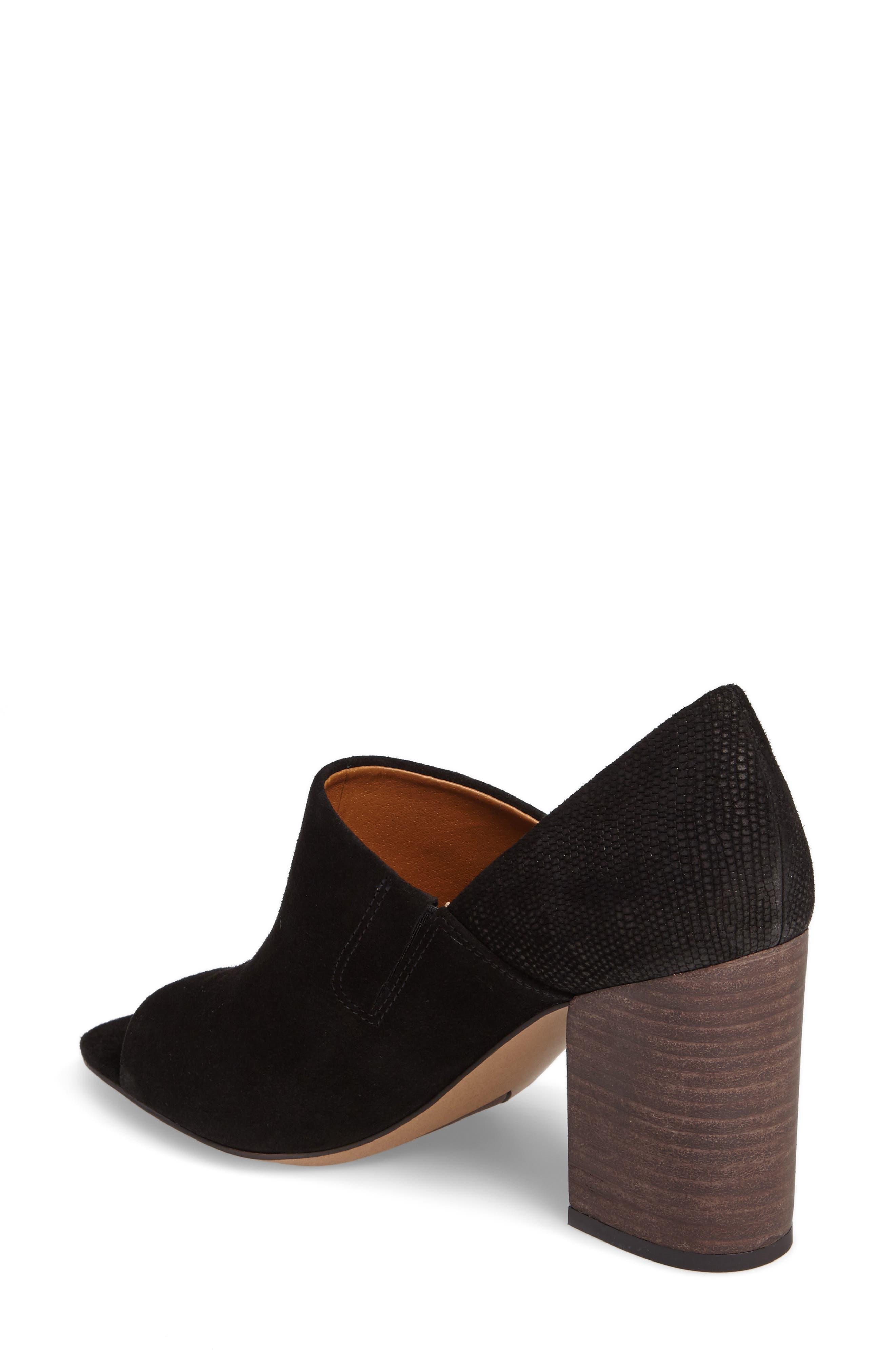 Ellison Block Heel Sandal,                             Alternate thumbnail 2, color,                             001