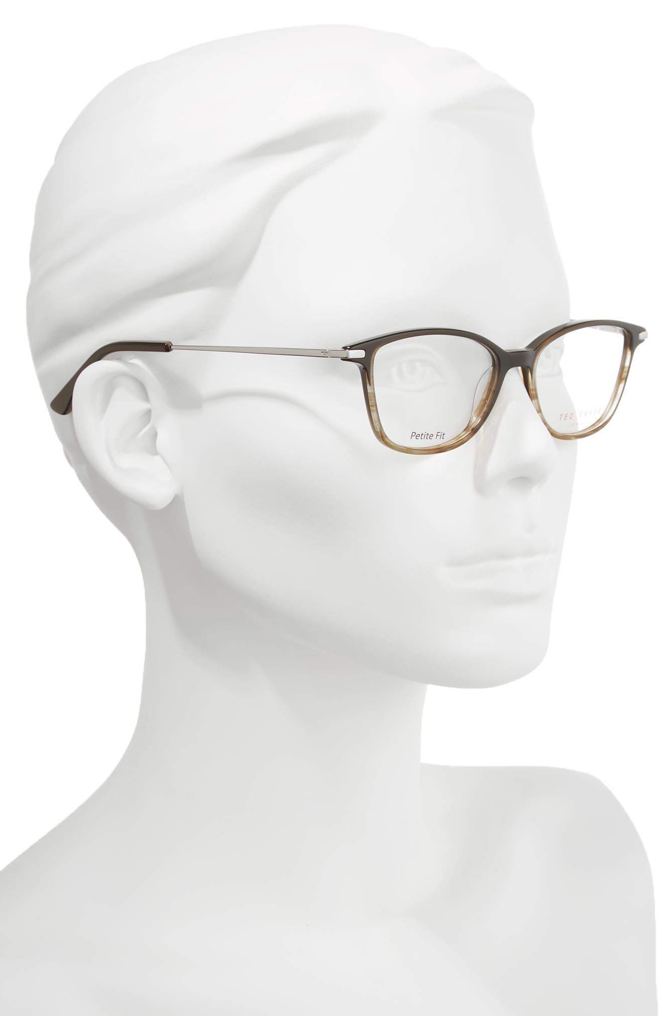 Petite Fit 50mm Optical Glasses,                             Alternate thumbnail 2, color,