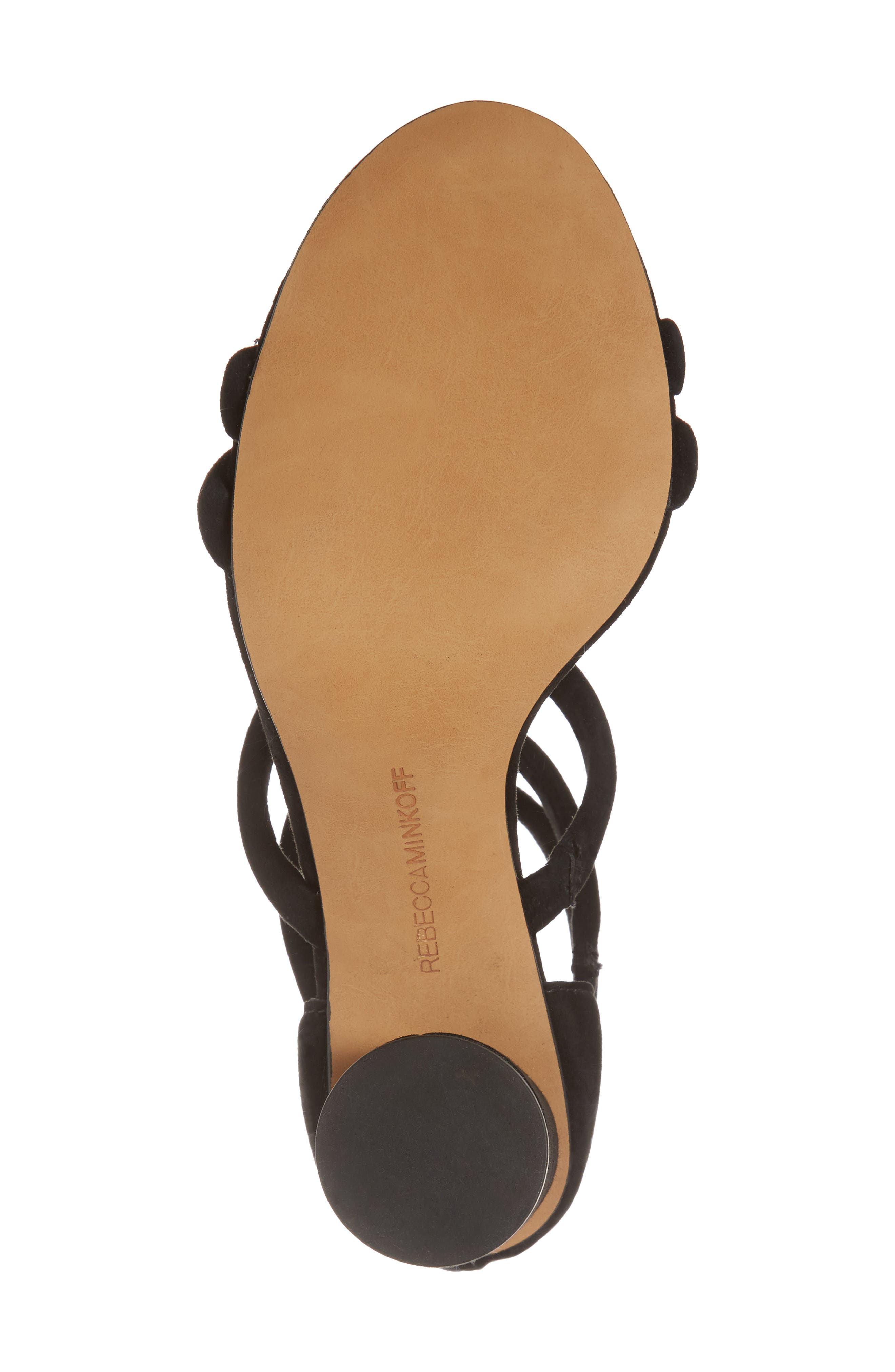 Andree Sandal,                             Alternate thumbnail 6, color,                             BLACK SUEDE