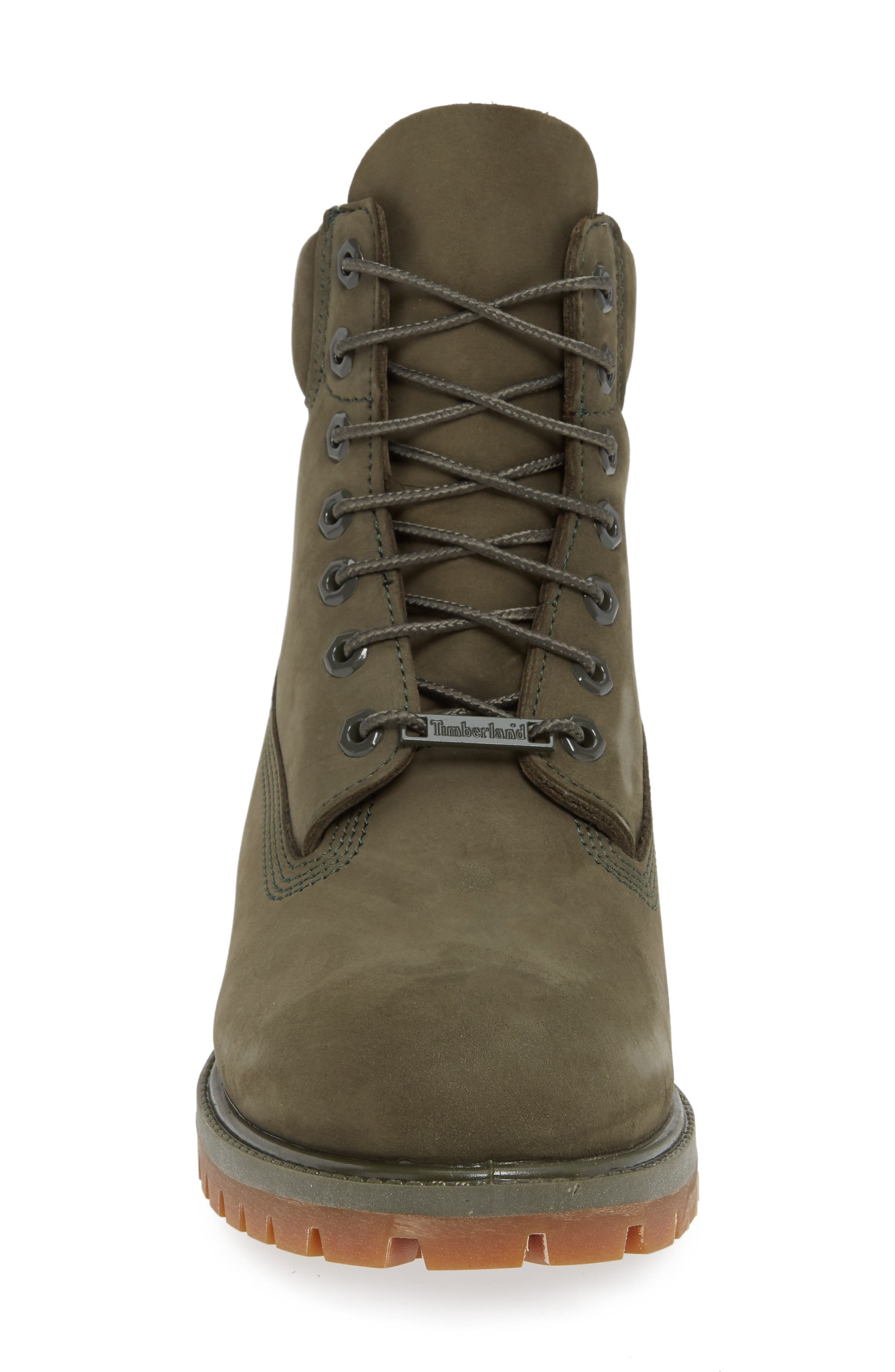 Six Inch Classic Waterproof Boots Series - Premium Waterproof Boot,                             Alternate thumbnail 4, color,                             GRAPE LEAF LEATHER